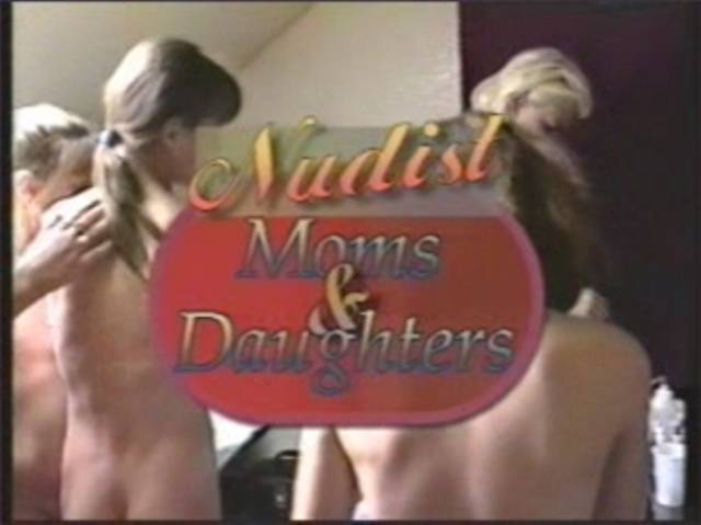 Nudist Moms and Daughters - Poster