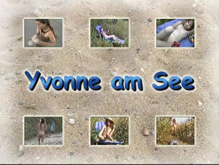 Naturistin Videos Yvonne am See - Poster