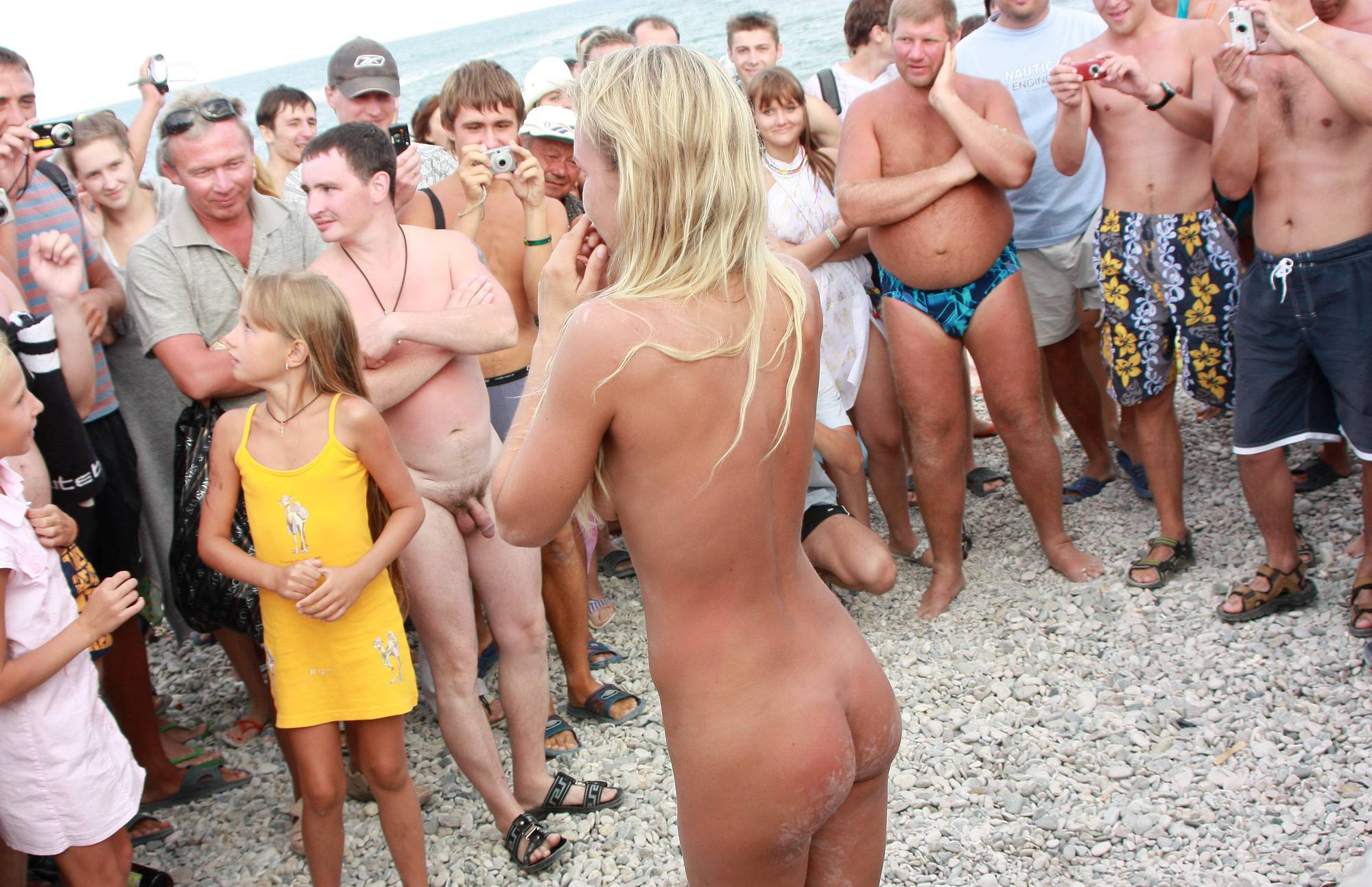 Pure Nudism Images-Neptune Blondes Dance - 2
