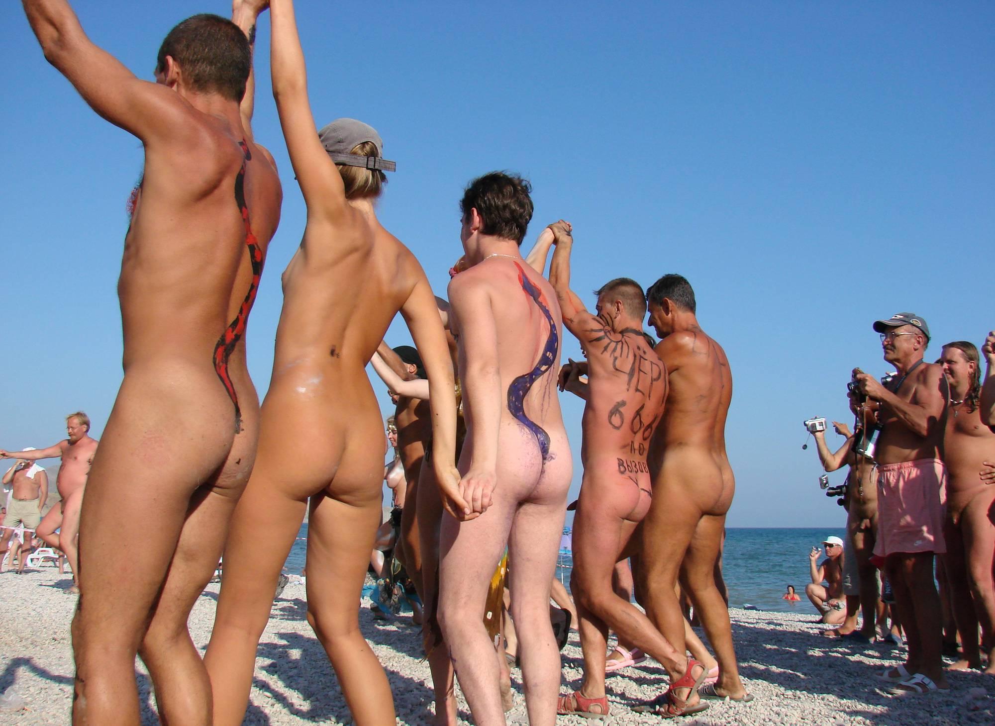 Pure Nudism-Neptune Day Dance Shot - 3