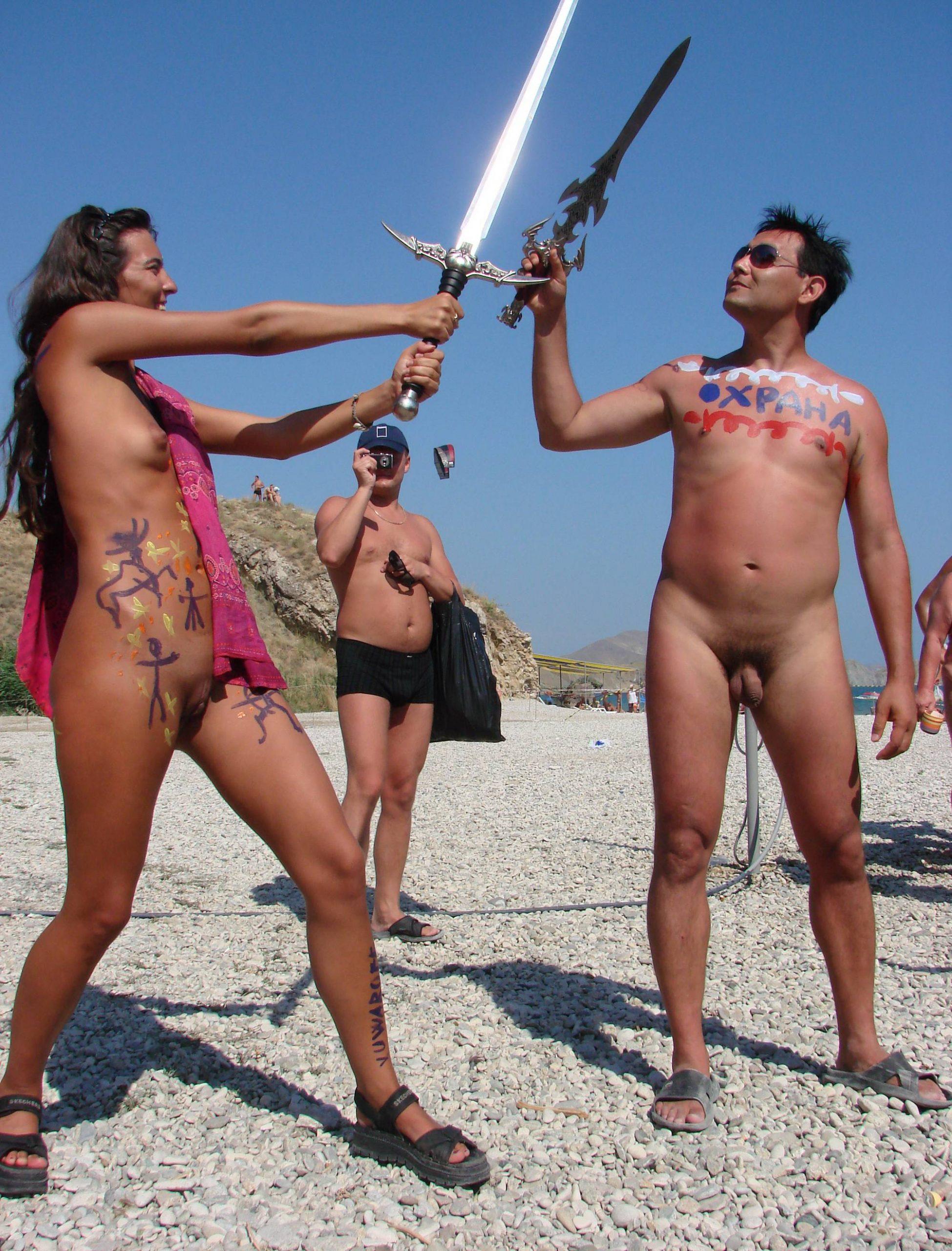 Neptune Day Sword Fights - 1