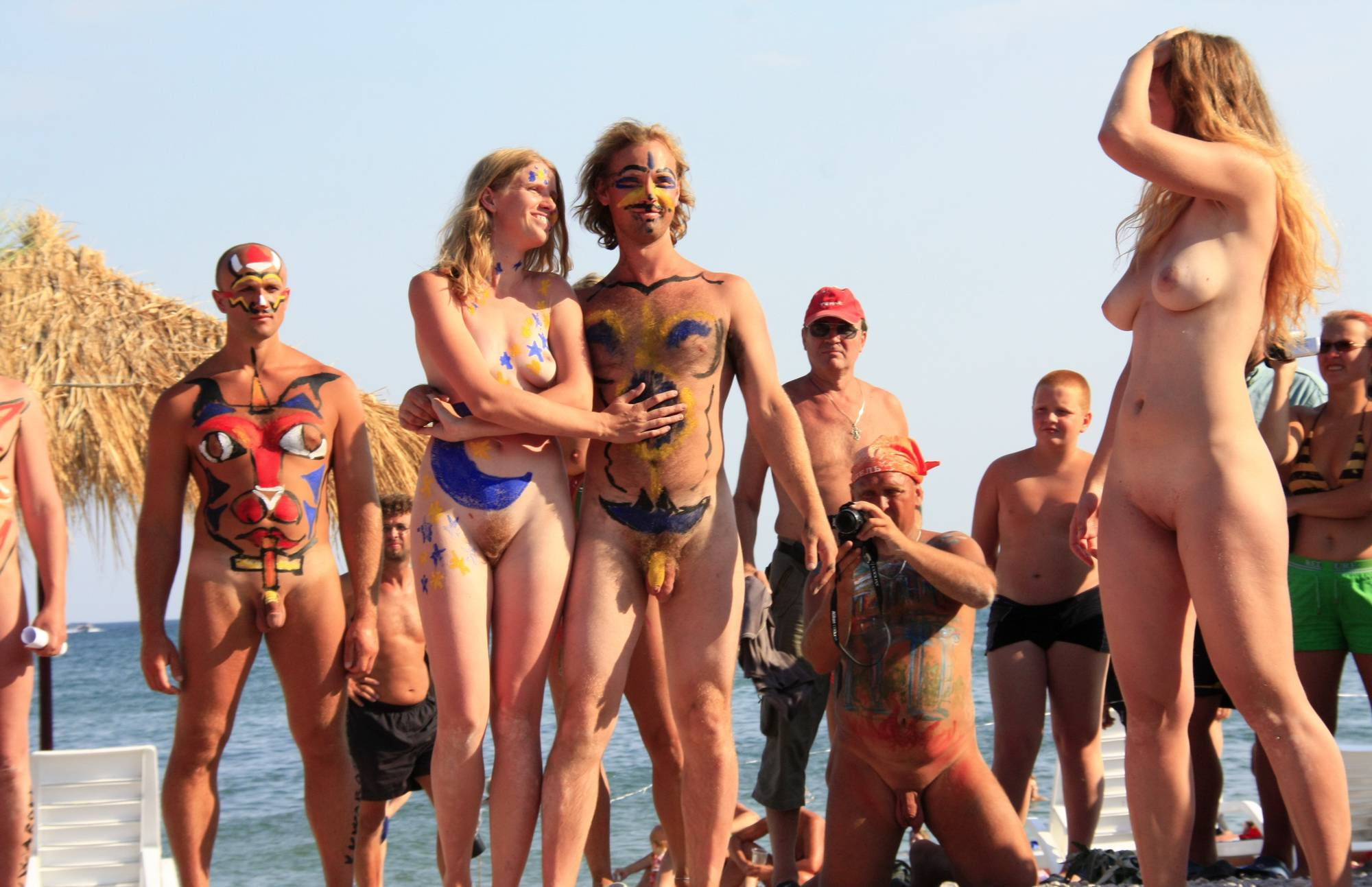 Pure Nudism Photos-Neptune Standing Crowds - 2