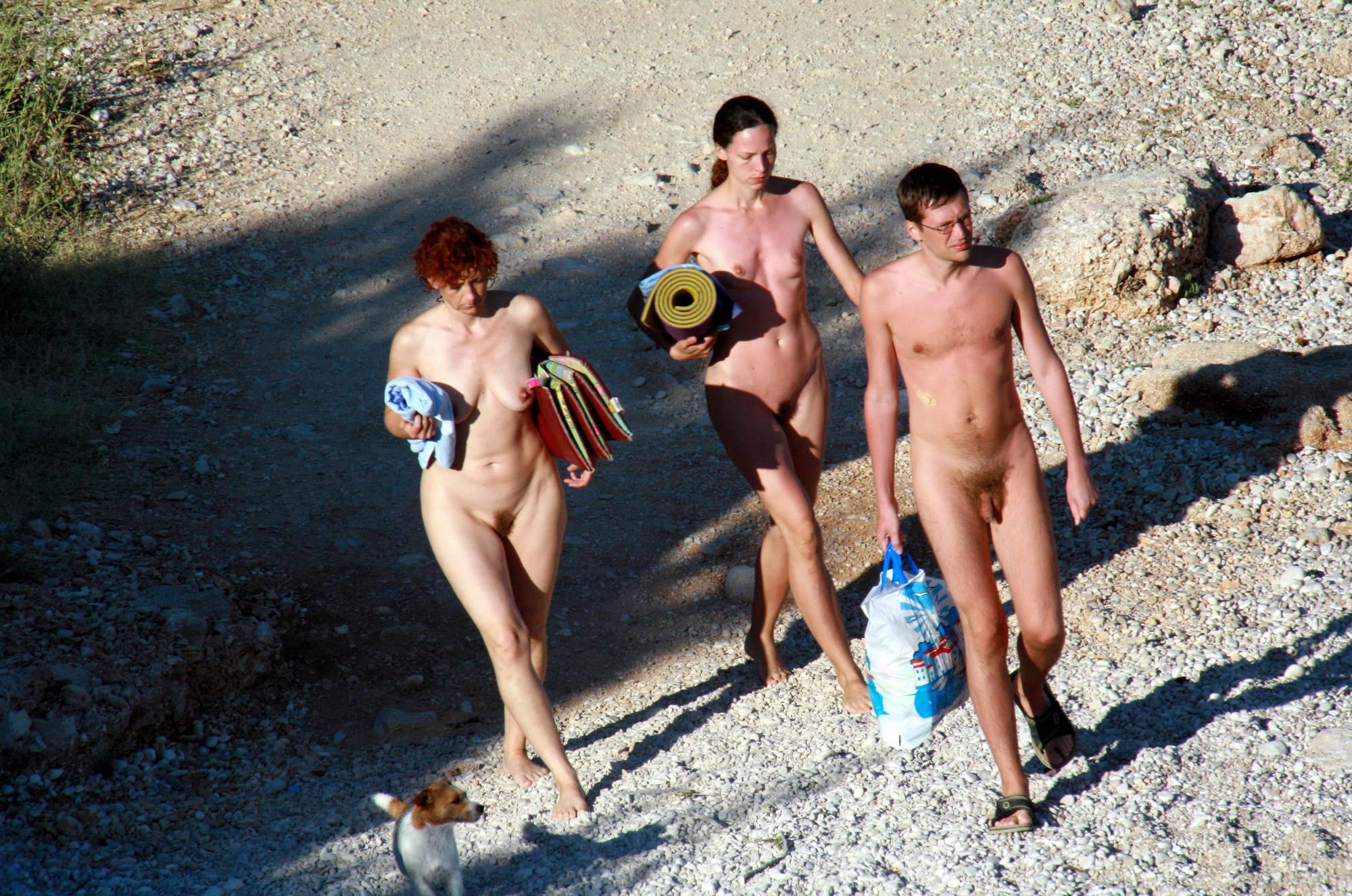 Purenudism Photos-Nude Beach Resting Board - 4