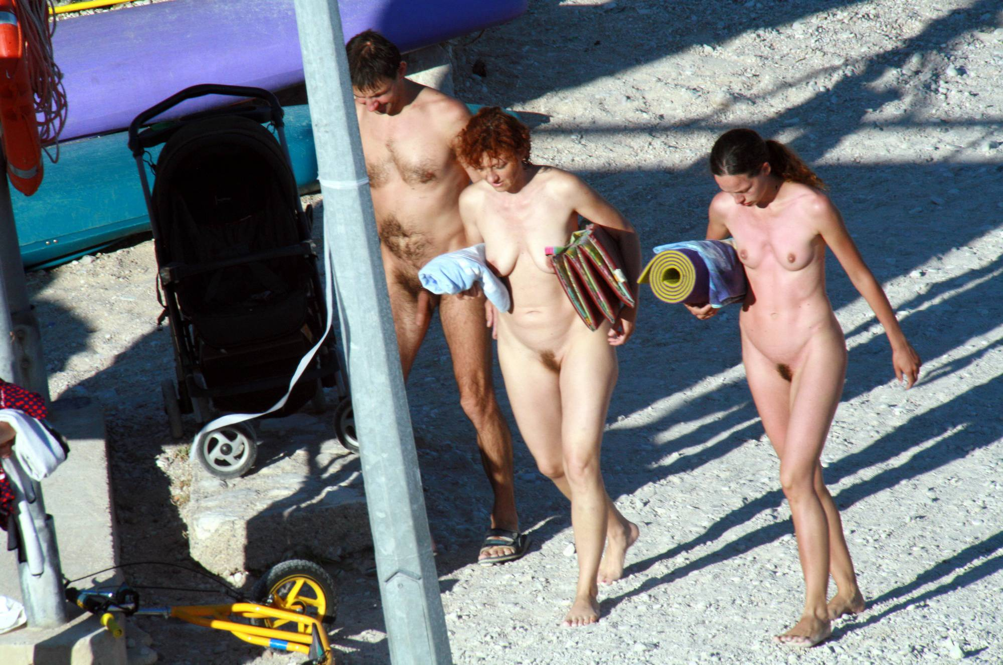 Purenudism Gallery-Nude Beach Resting Board - 1