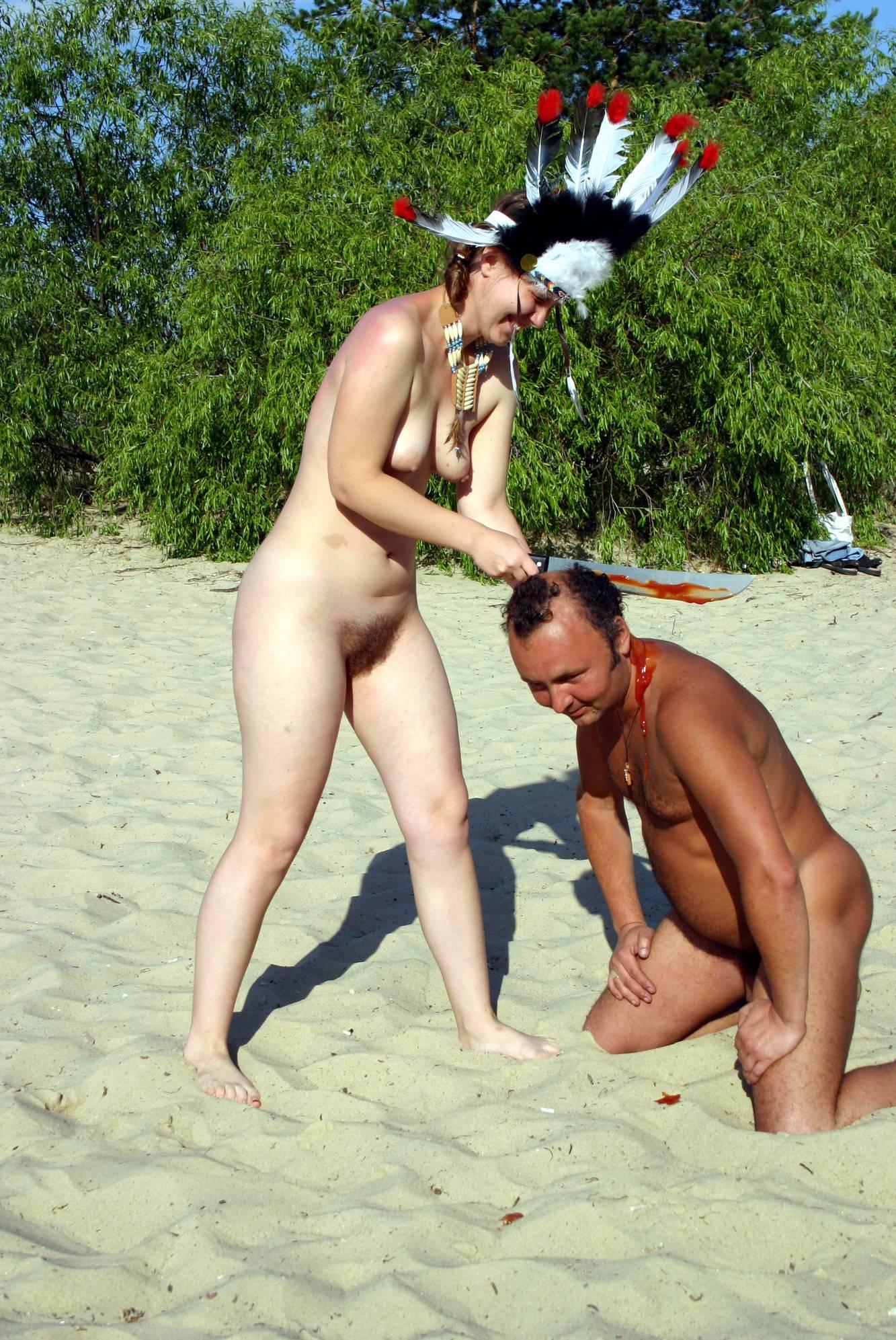 Pure Nudism-Nude Dress Battles Begin - 1