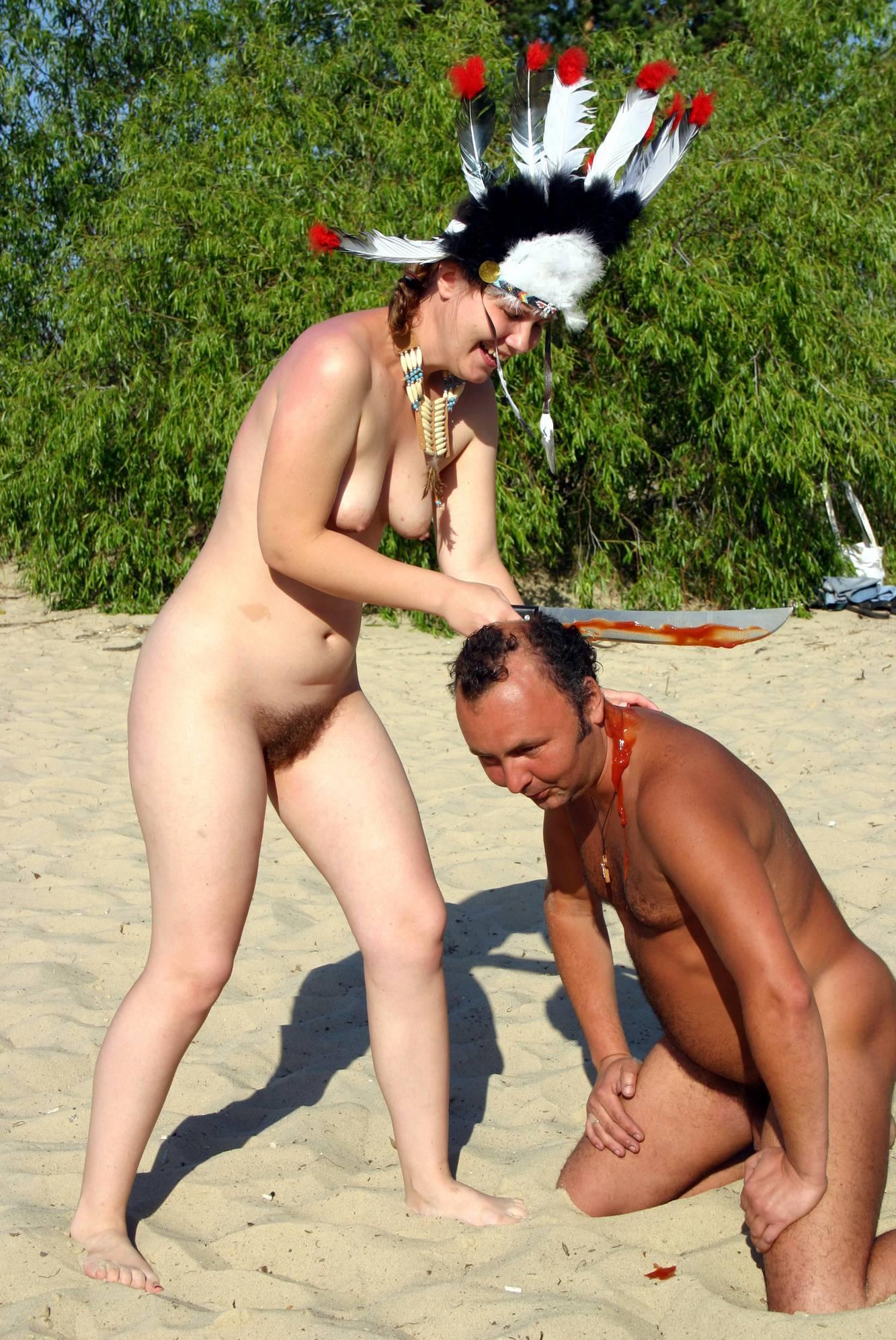 Nude Dress Battles Begin - 2