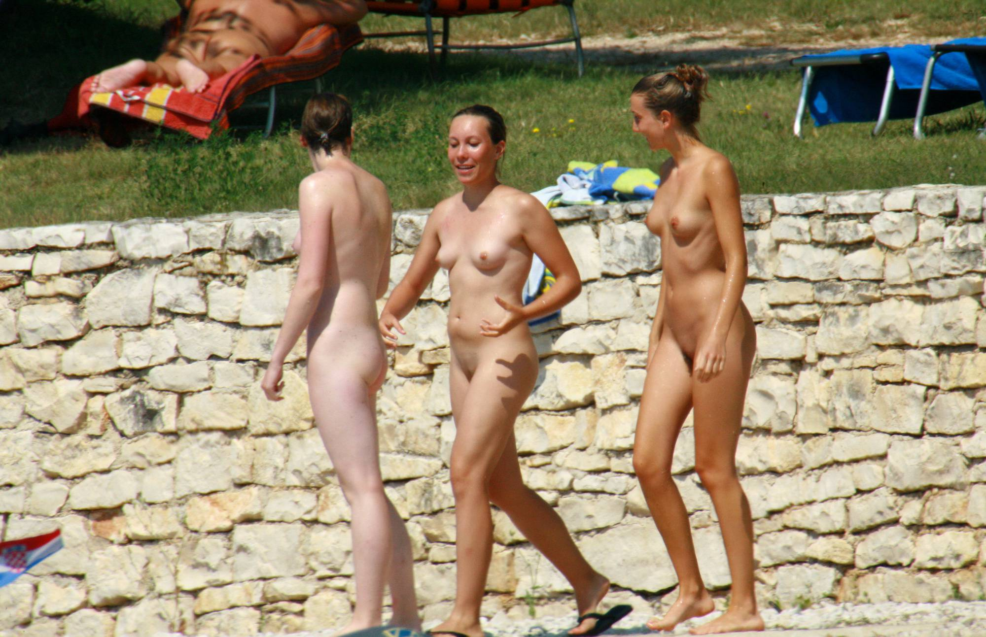 Nude Duet Water Migration - 1