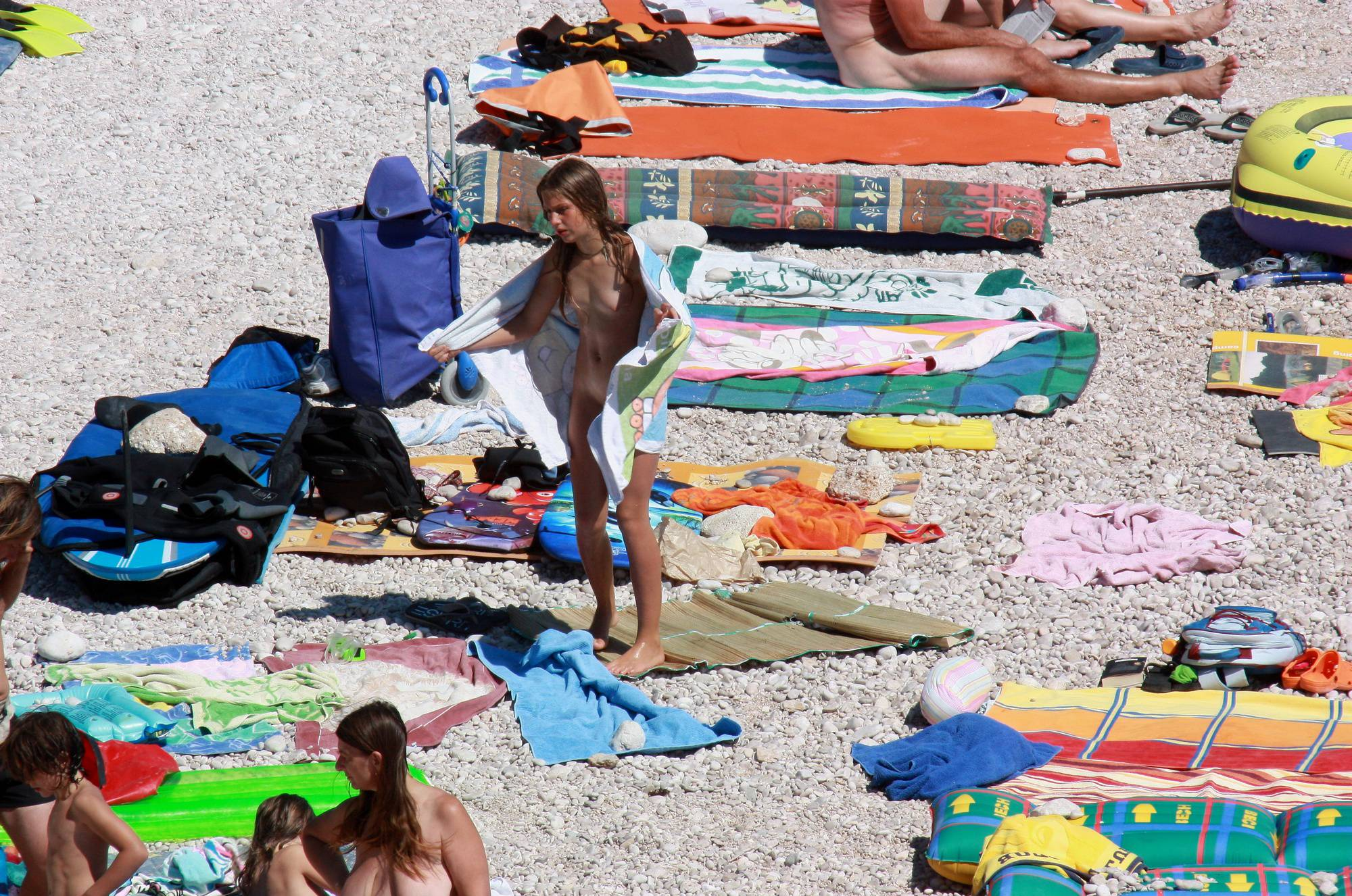 Pure Nudism-Nude Family Beach Colors - 2