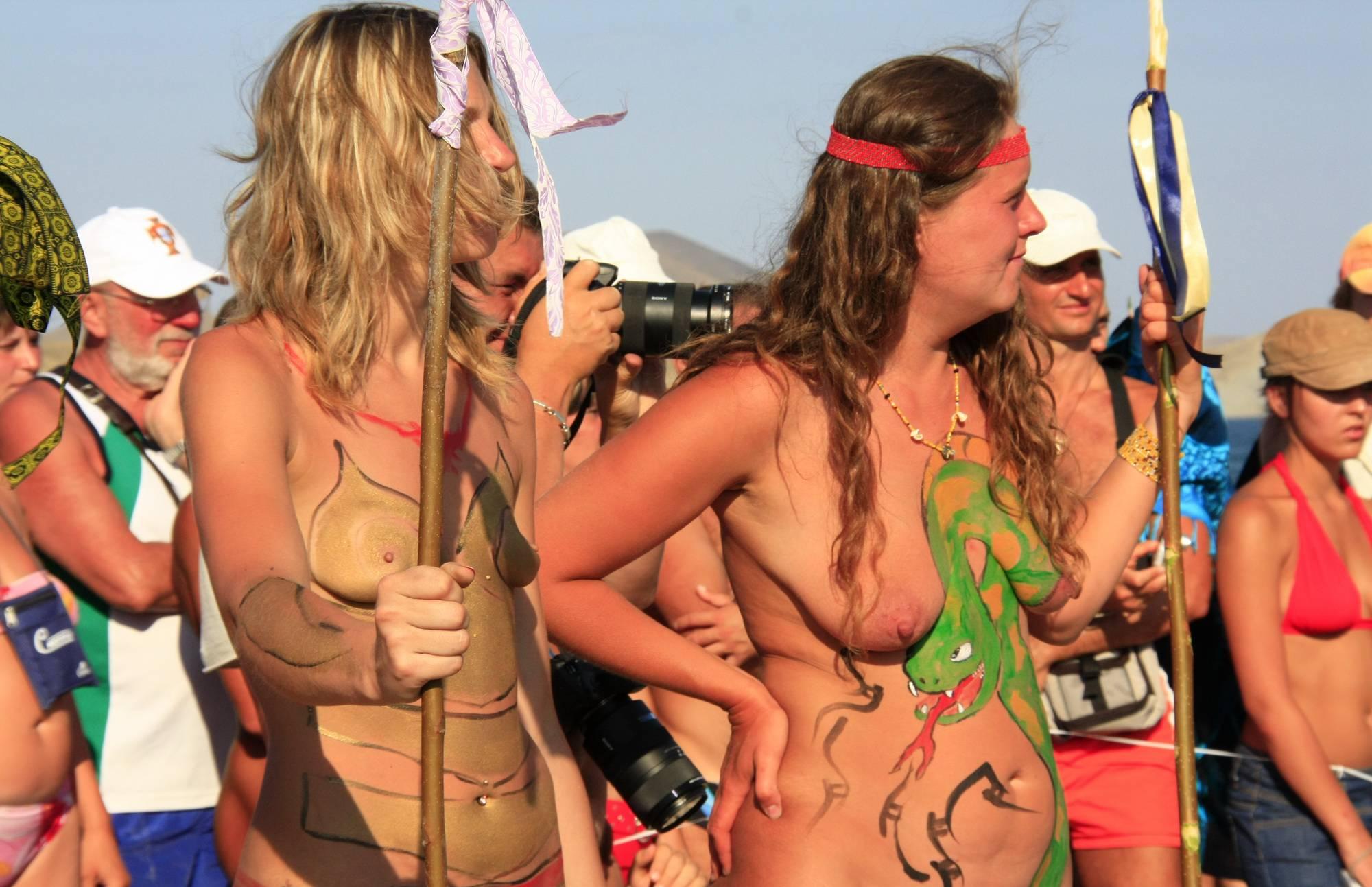 Nude Group Beach Profile - 1