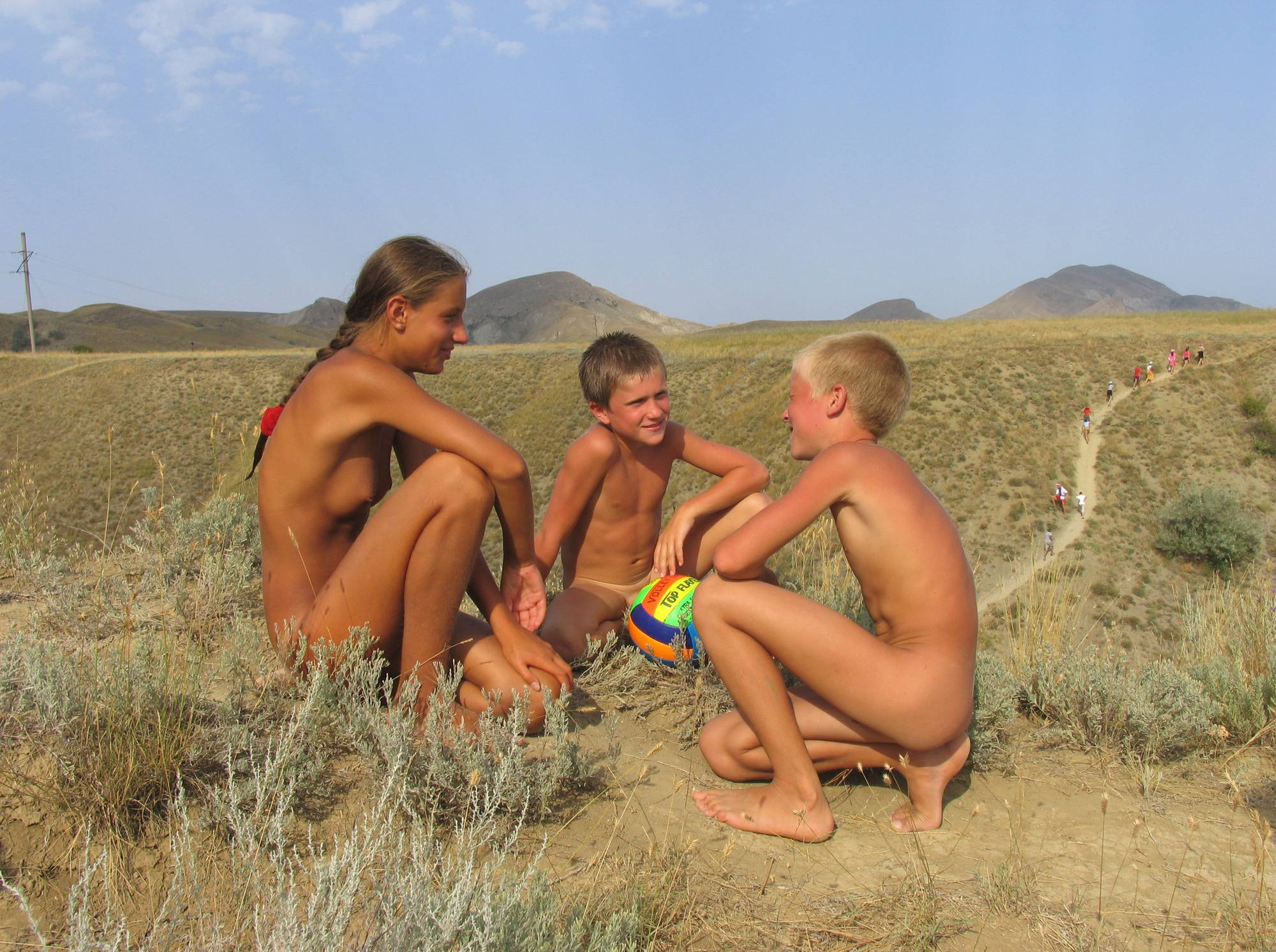 Pure Nudism Photos-Nude Mountain Group Hike - 1