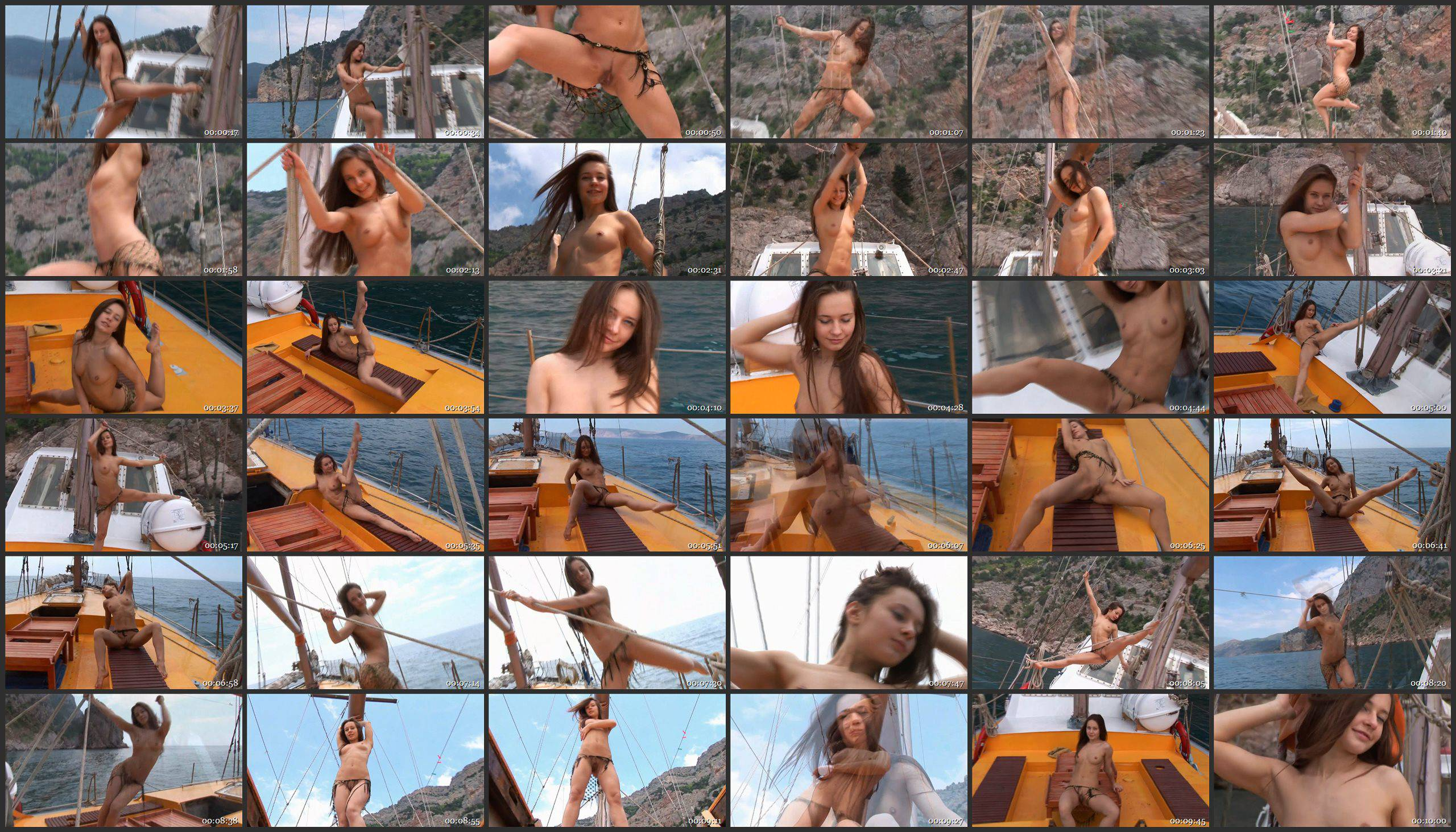 Nude girl relaxing on a yacht - MetArt - Thumbnails