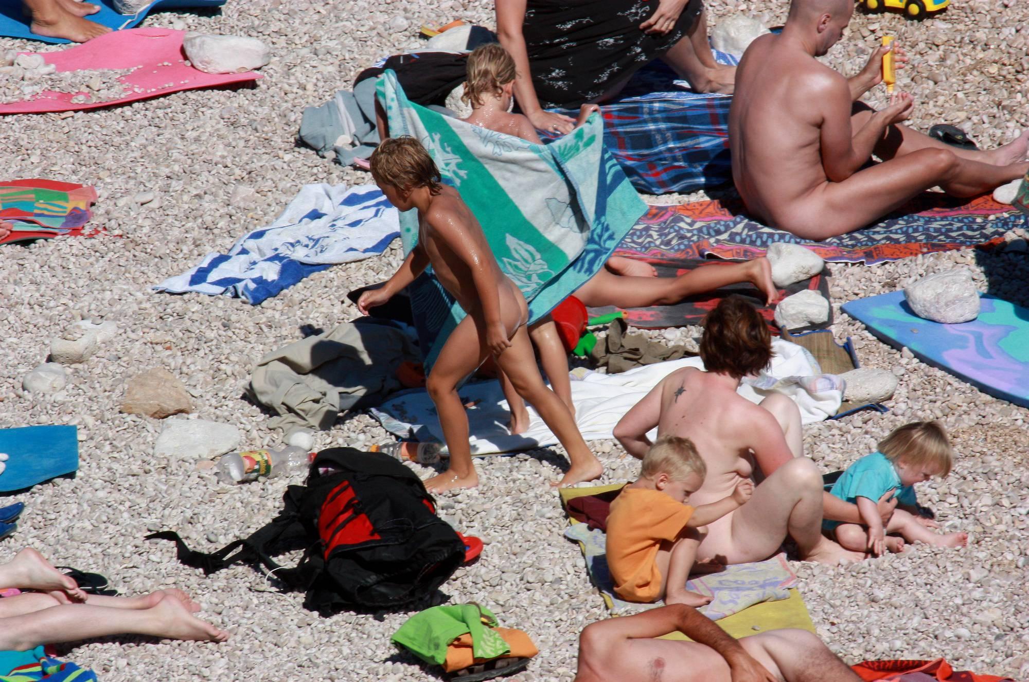 Nudist Family Beach Look - 4