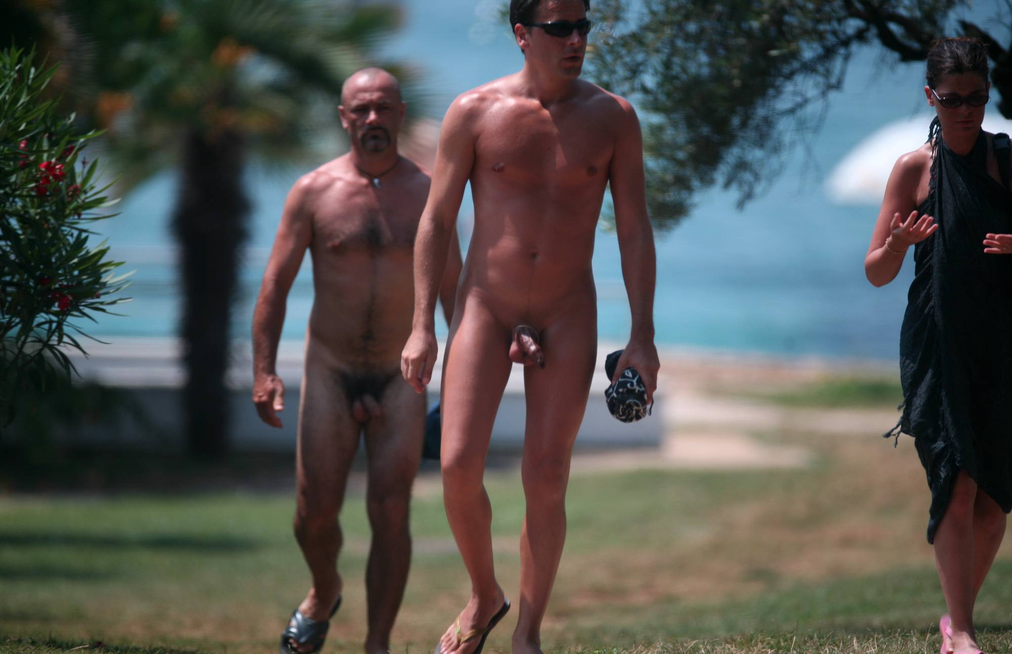 Nudist Family Heading Out - 3