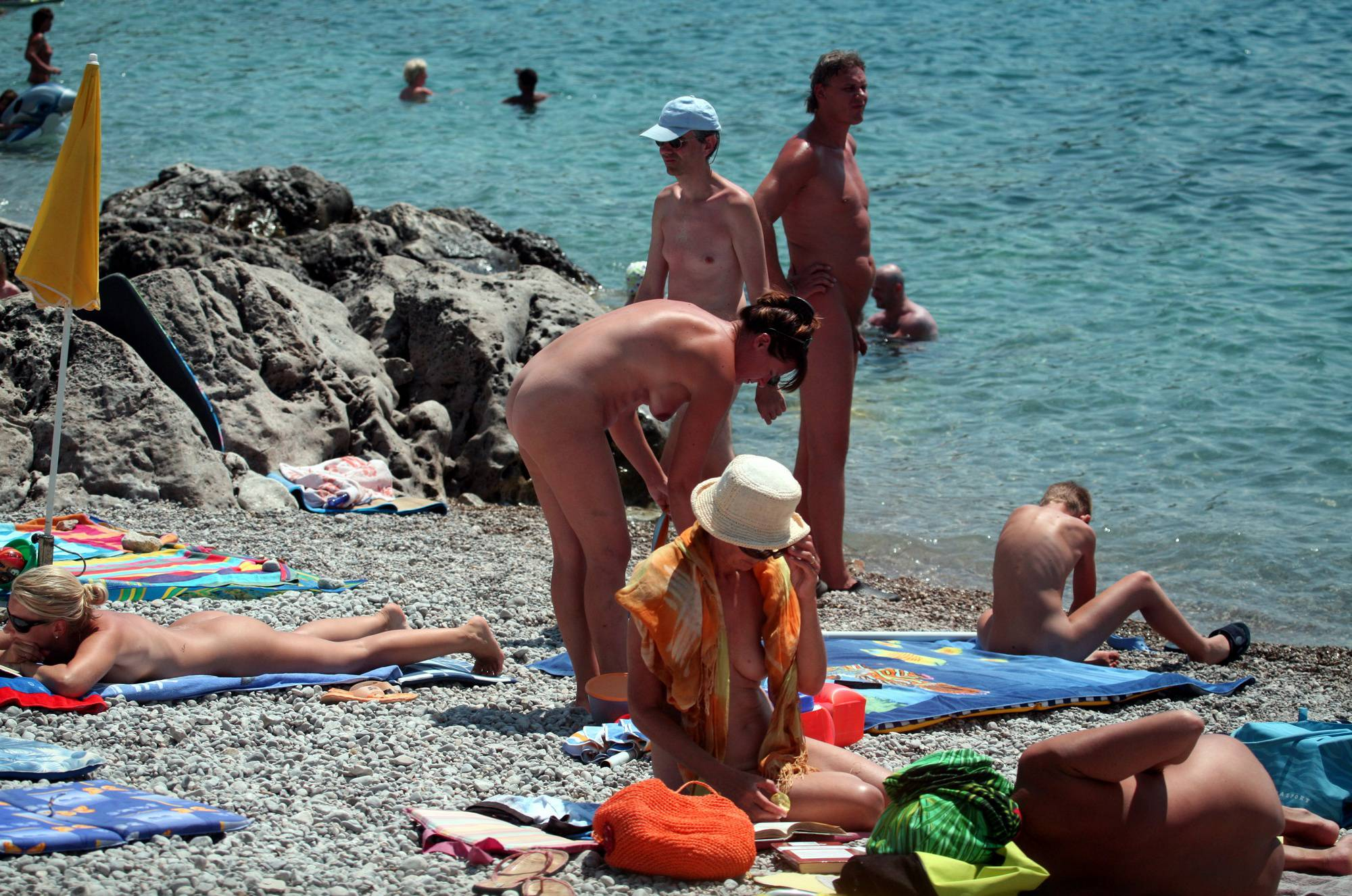 Pure Nudism Gallery-Nudist Family Water Camp - 1