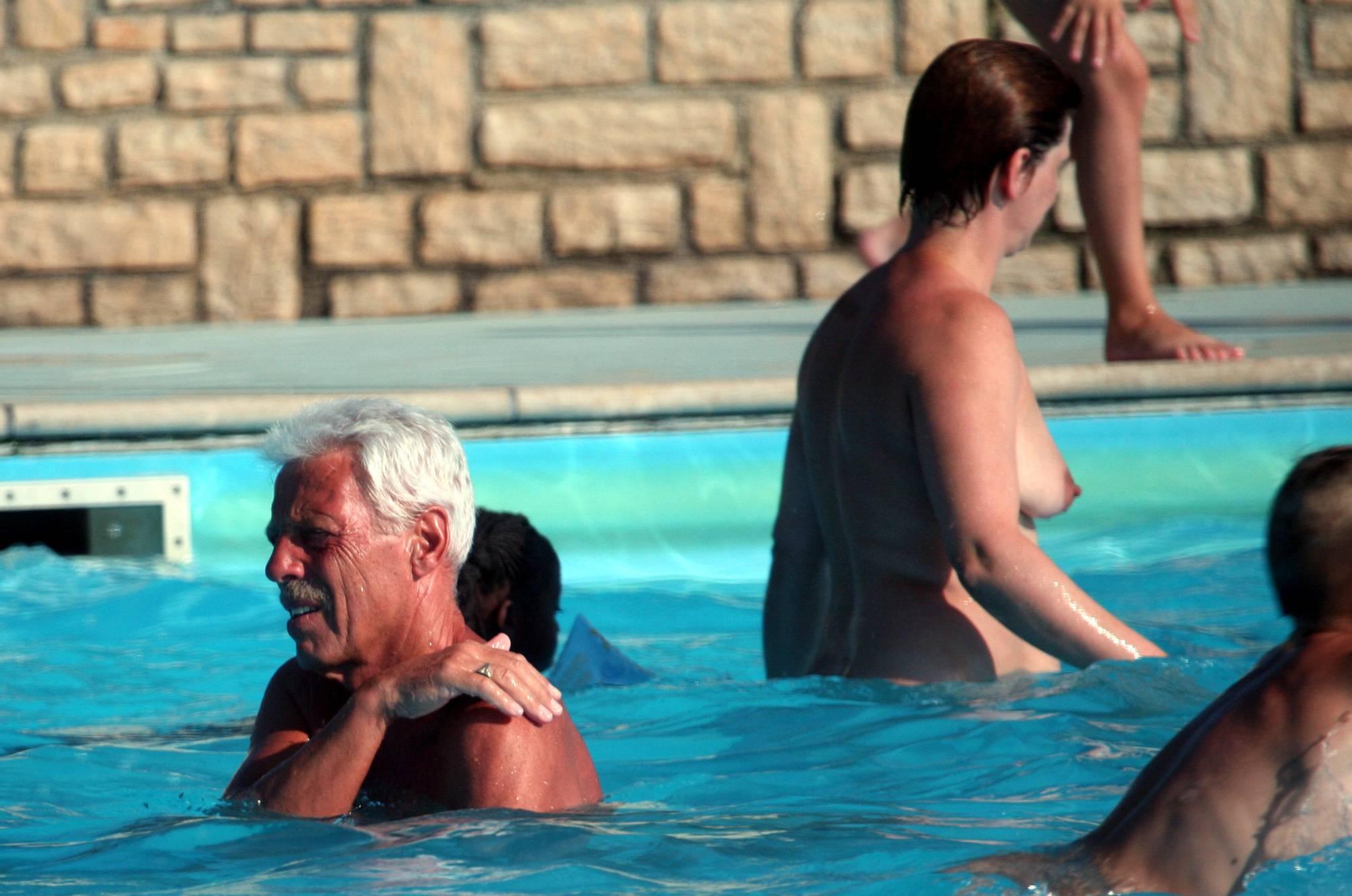 Pure Nudism Photos Nudist In-Pool Assortment - 2