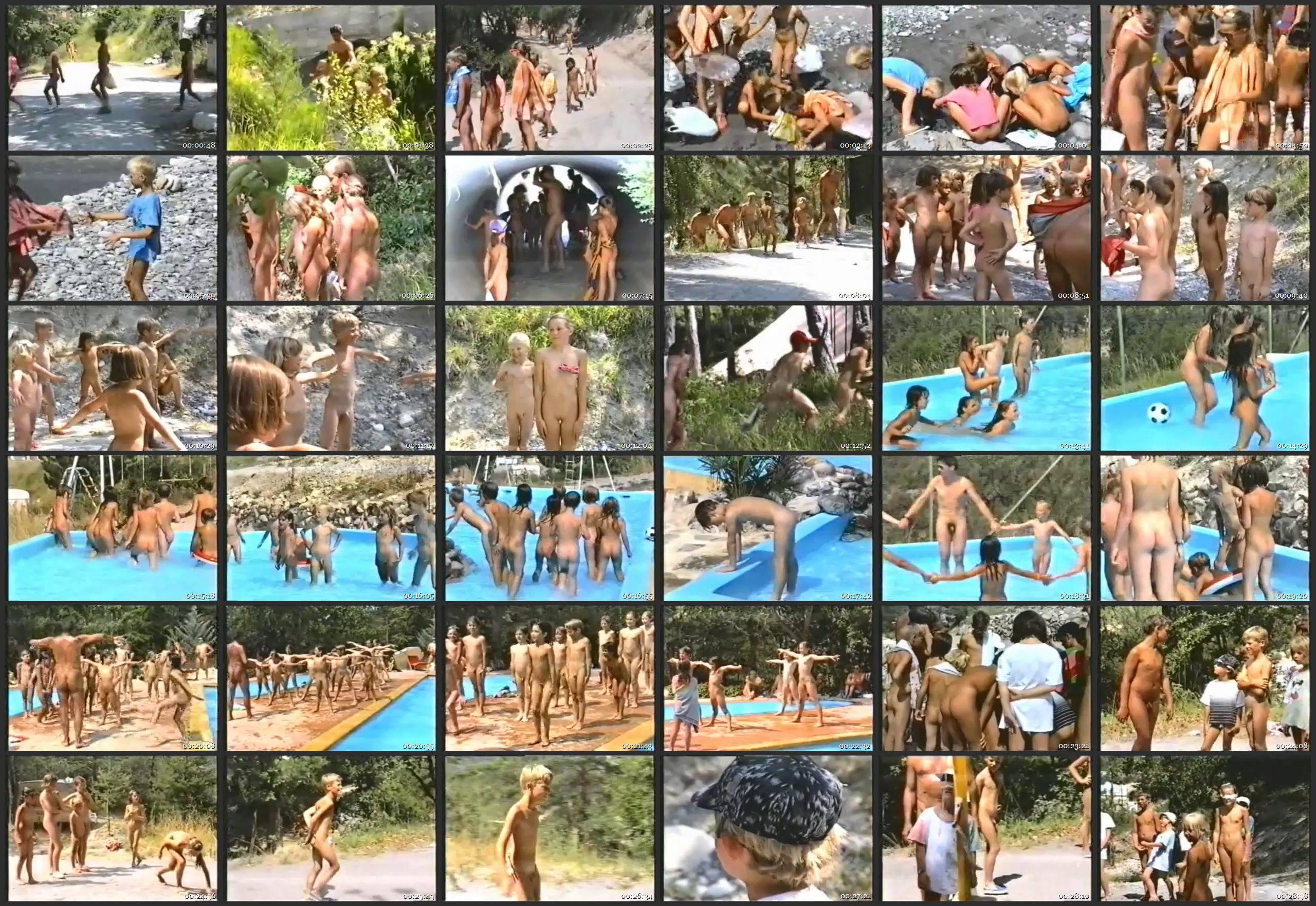 FKK Videos-Summer Fun and Games - Thumbnails
