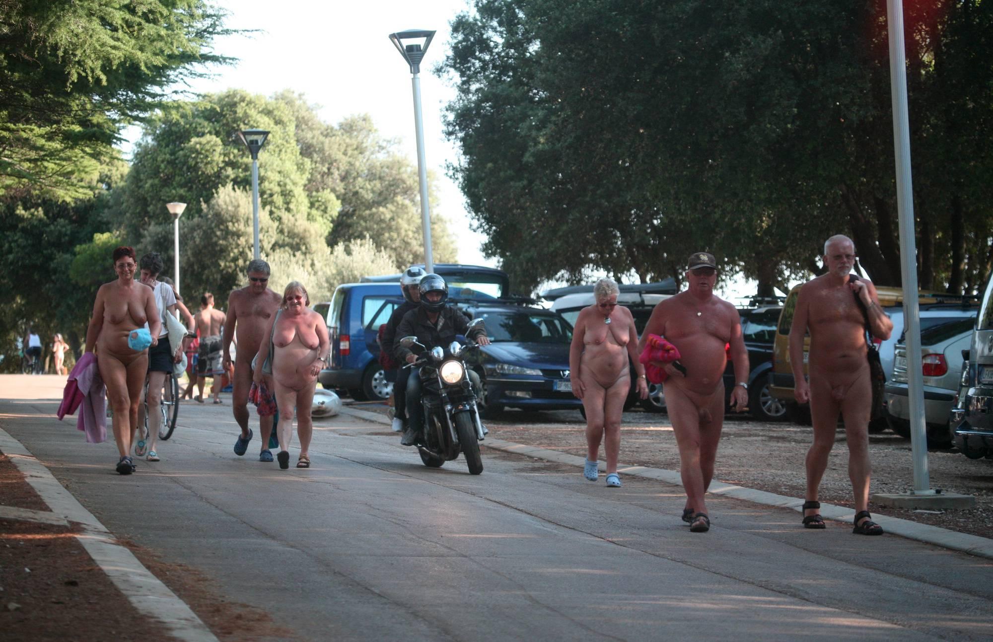 Pure Nudism Gallery-Nudist Park Sidewalk Shot - 2