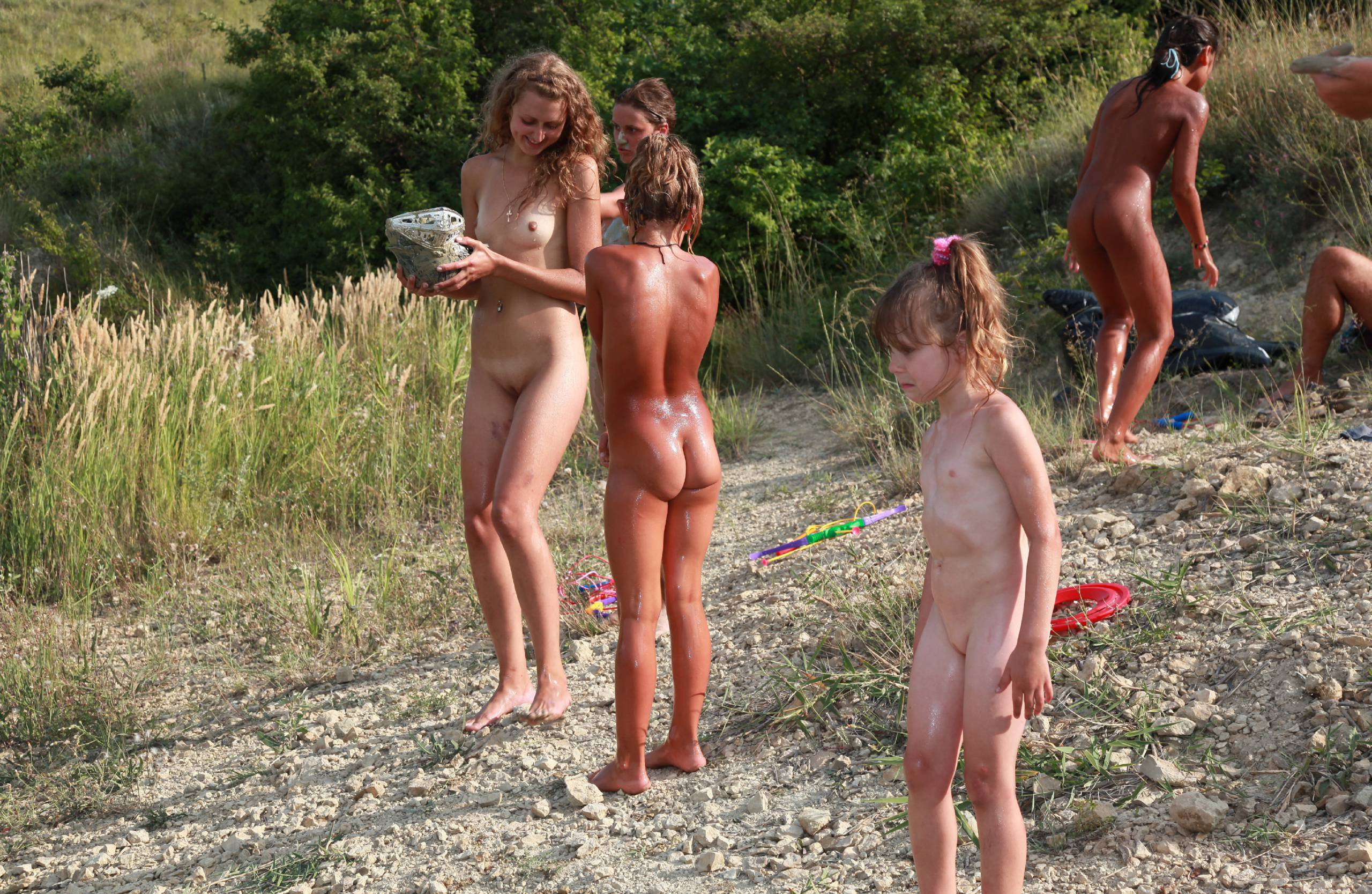 Pure Nudism-Our Natural Mud Bath - 1