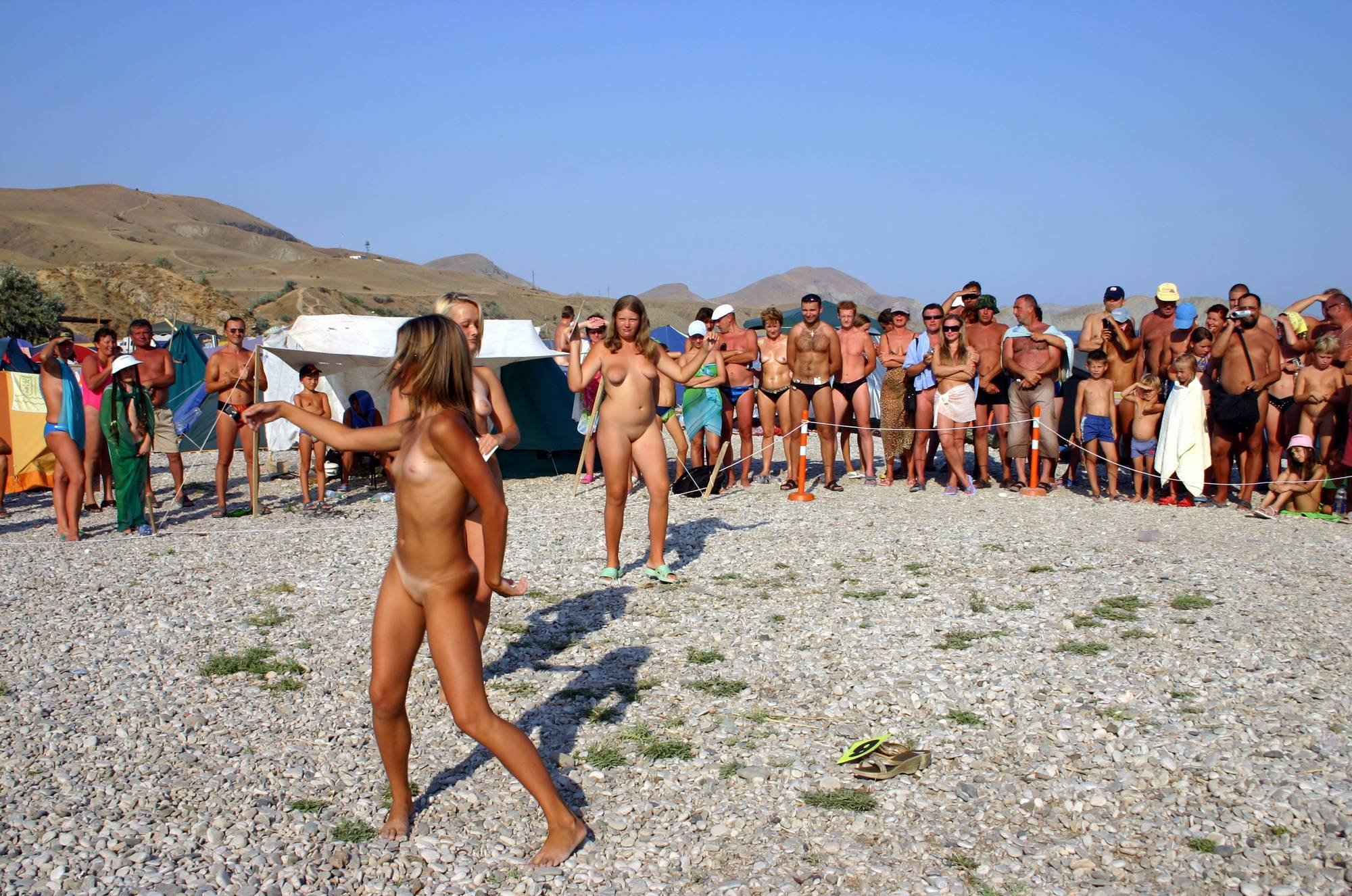 Pure Nudism Pics Pageant Walk and a Dance - 2