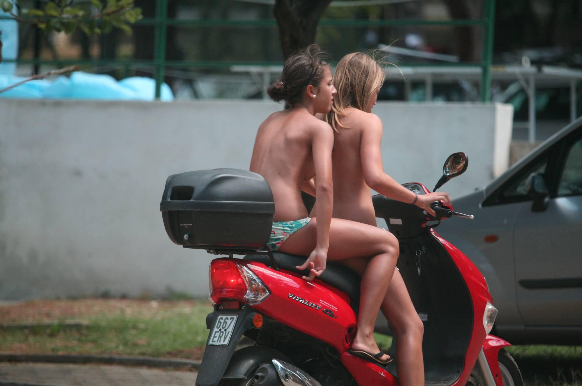Pier FKK Biking Girlfriends - 2