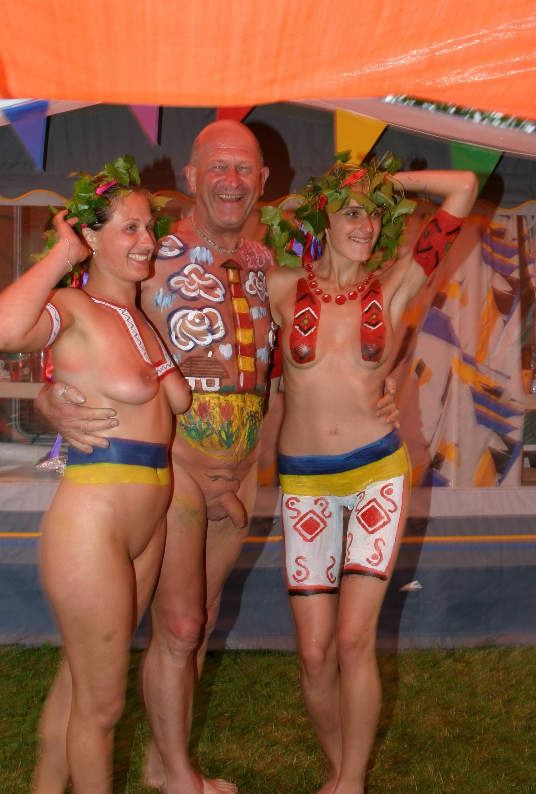 Pure Nudism Pics-Body Paints and Colors - 2