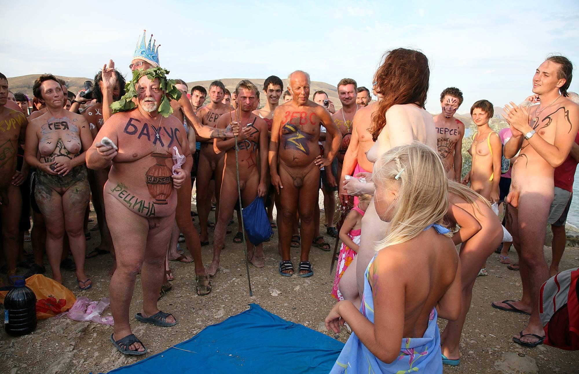 Pure Nudism Photos-Bright Beach Swordplay - 4