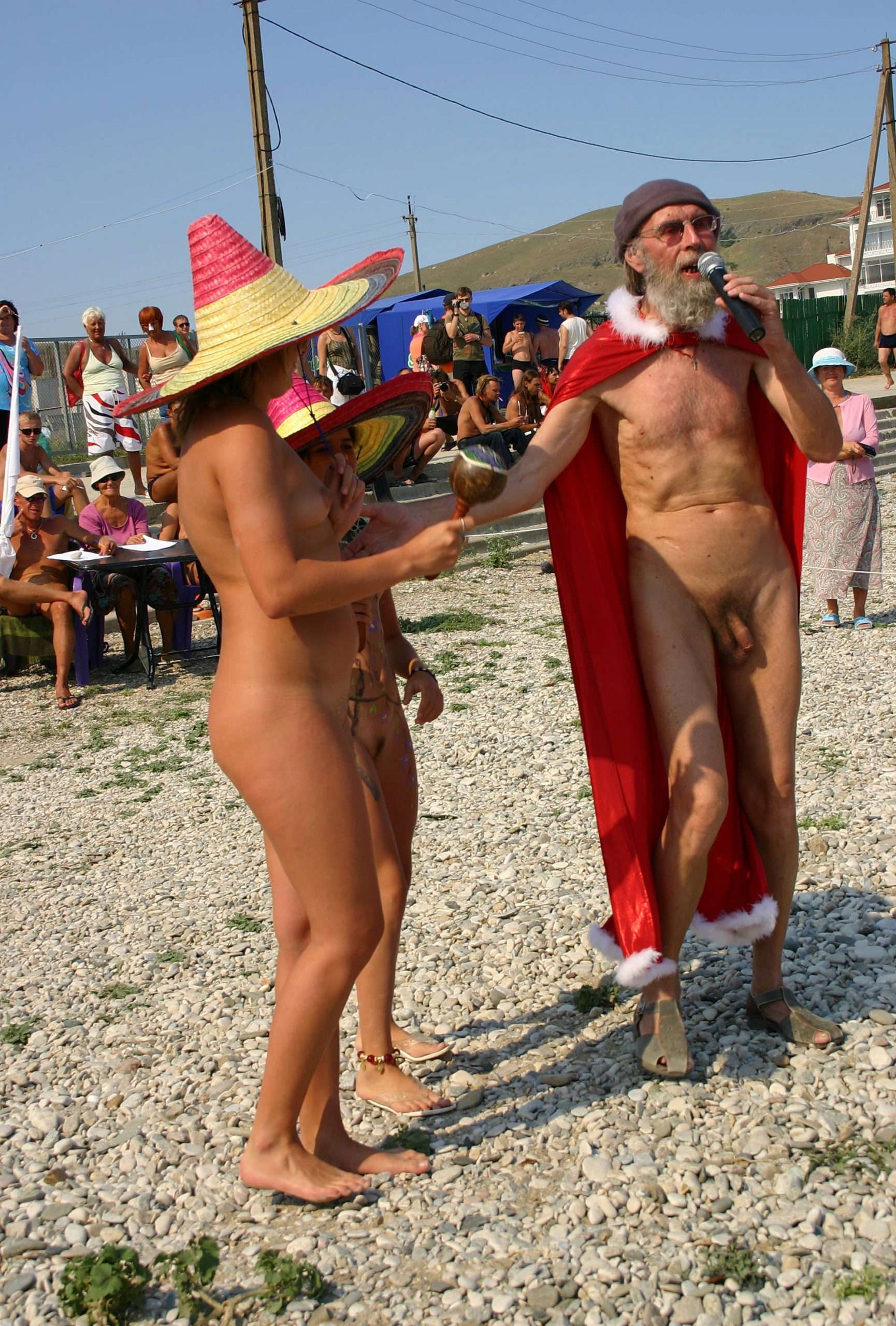 Purenudism Images-Costume Hat Day Dance - 2