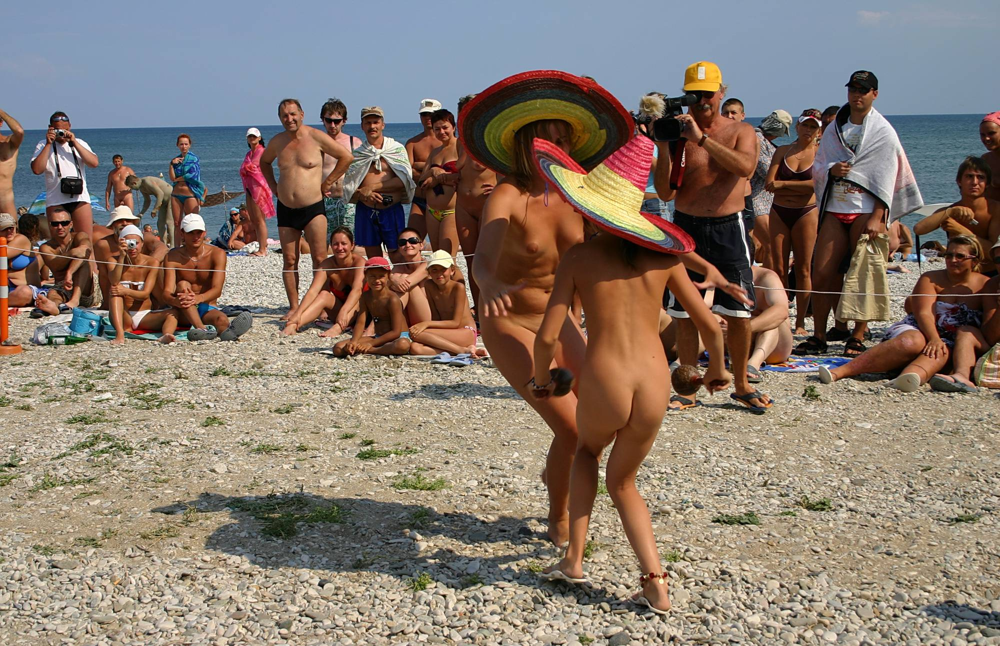 Pure Nudism Photos-Costume Hat Day Dance - 3
