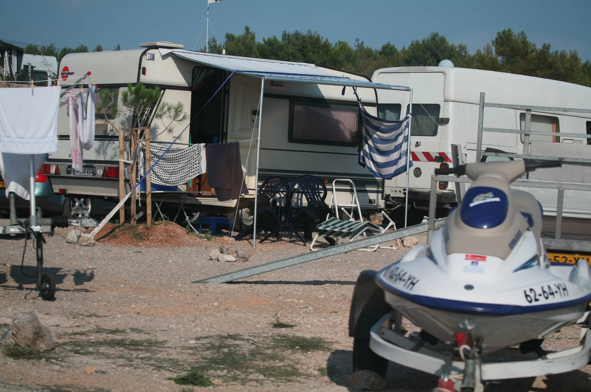 Cove Camping Scenery - 1