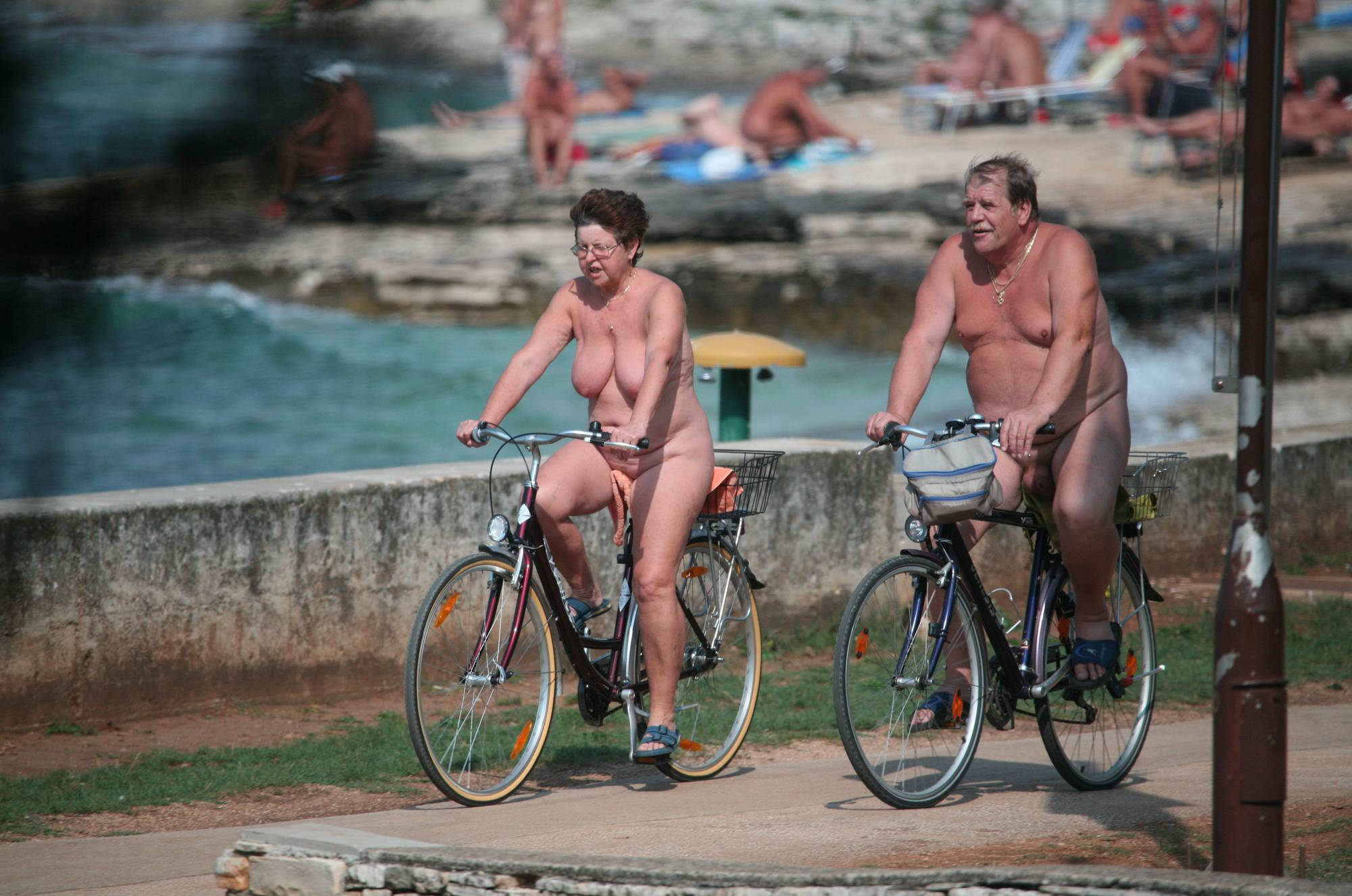 Crete Observed Bikers - 1