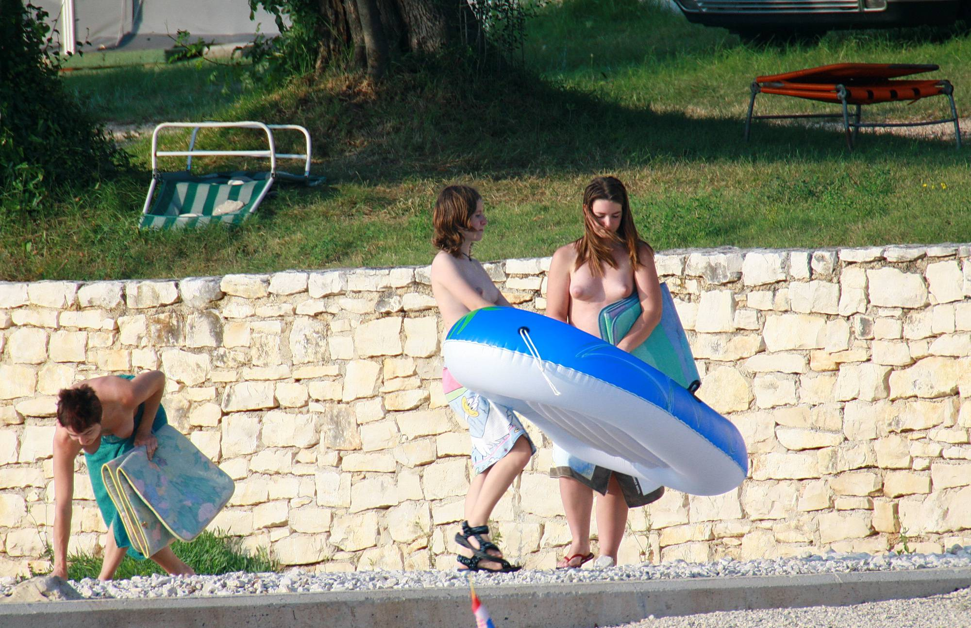 Pure Nudism Gallery-Freestyle Inner Tubes - 1