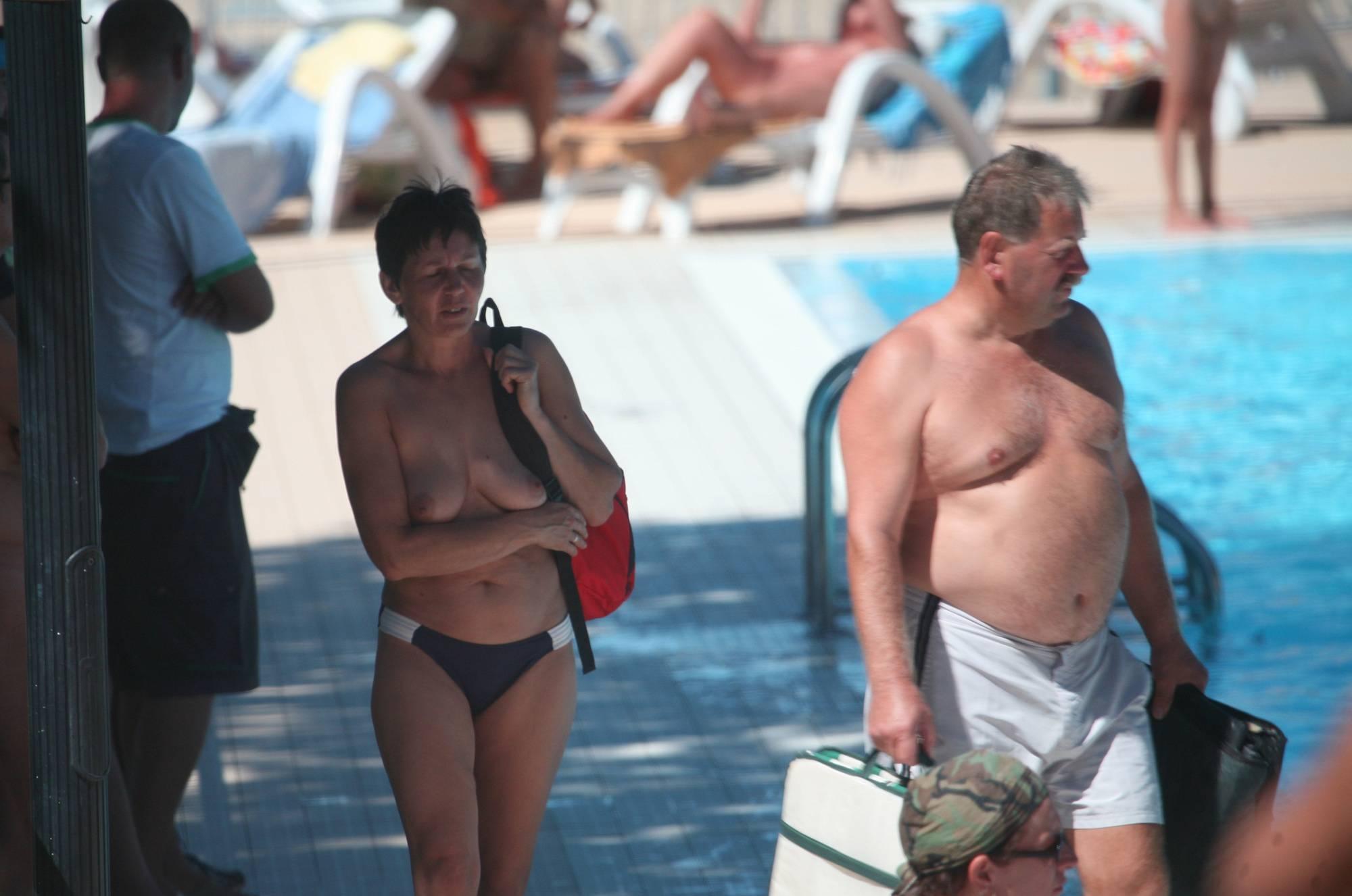 Nudist Pool Walk Around - 4