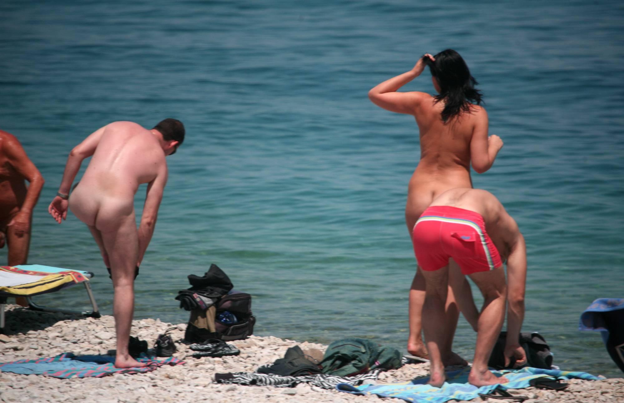 Purenudism-Friends Came on a Beach - 1