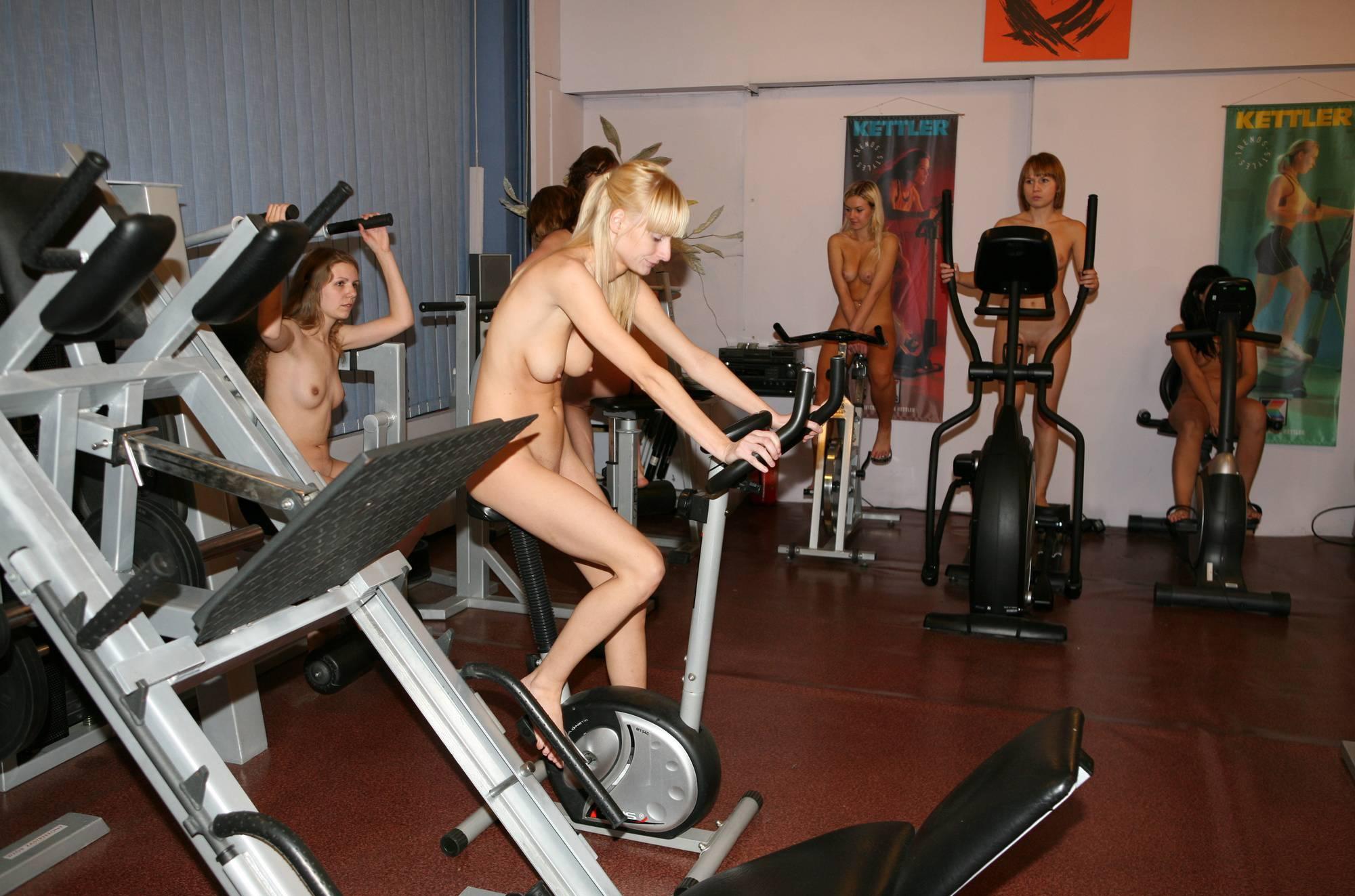 Gymnasts Riding The Bike - 3