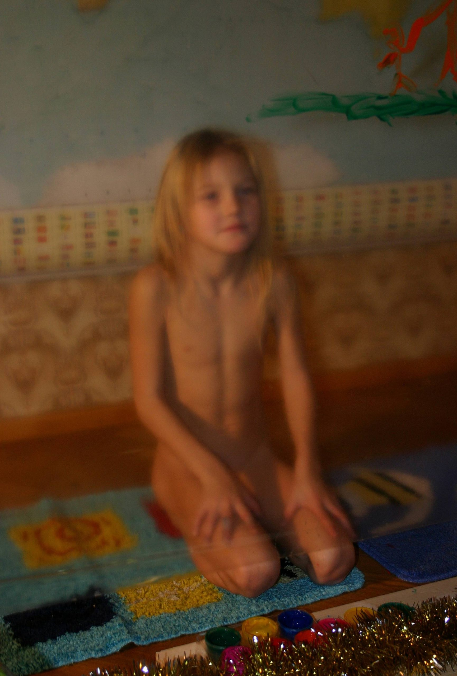 Pure Nudism-Indoor Finger Painting - 3