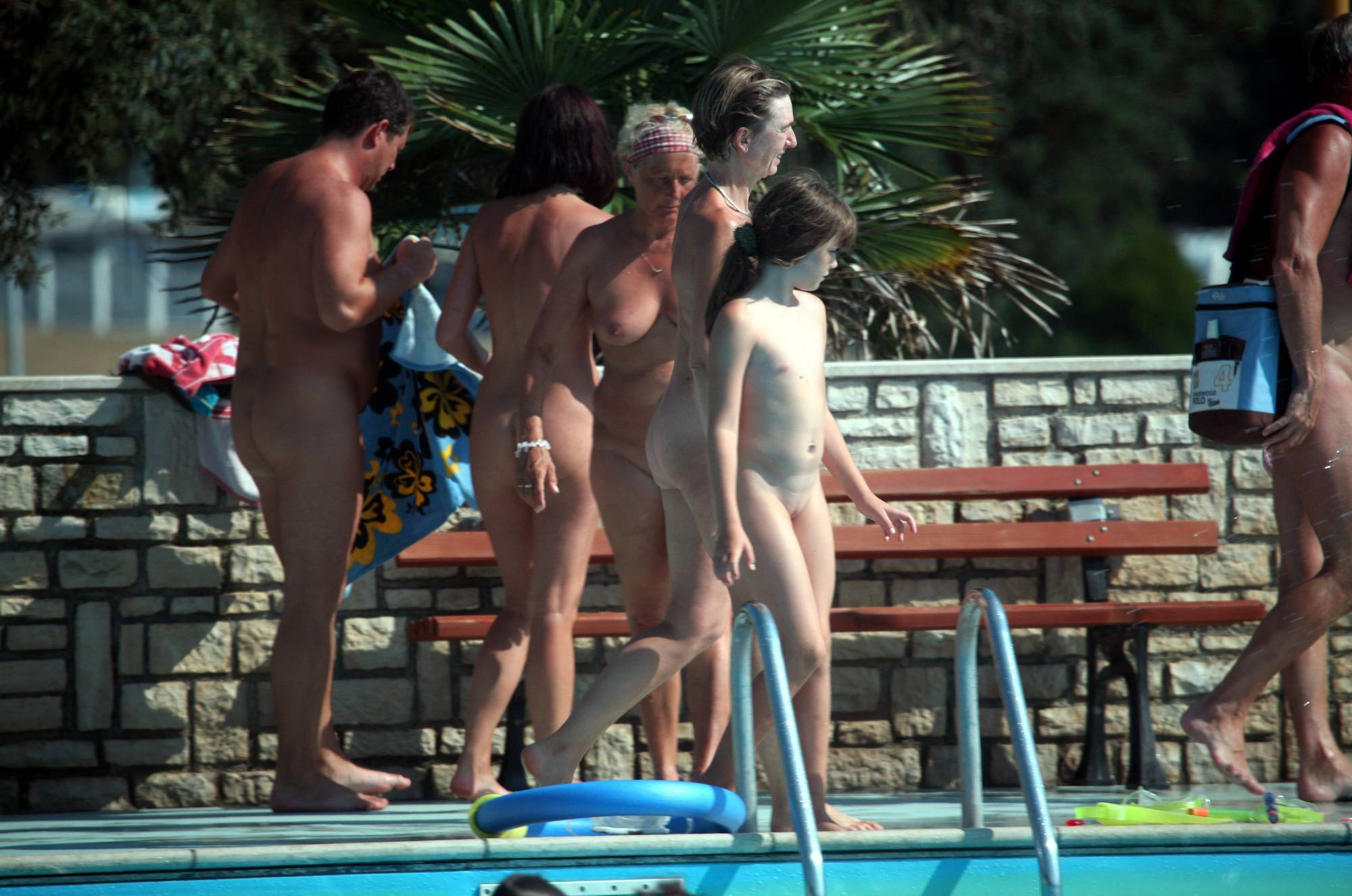 Naturist Pool Cleaning-Up - 1
