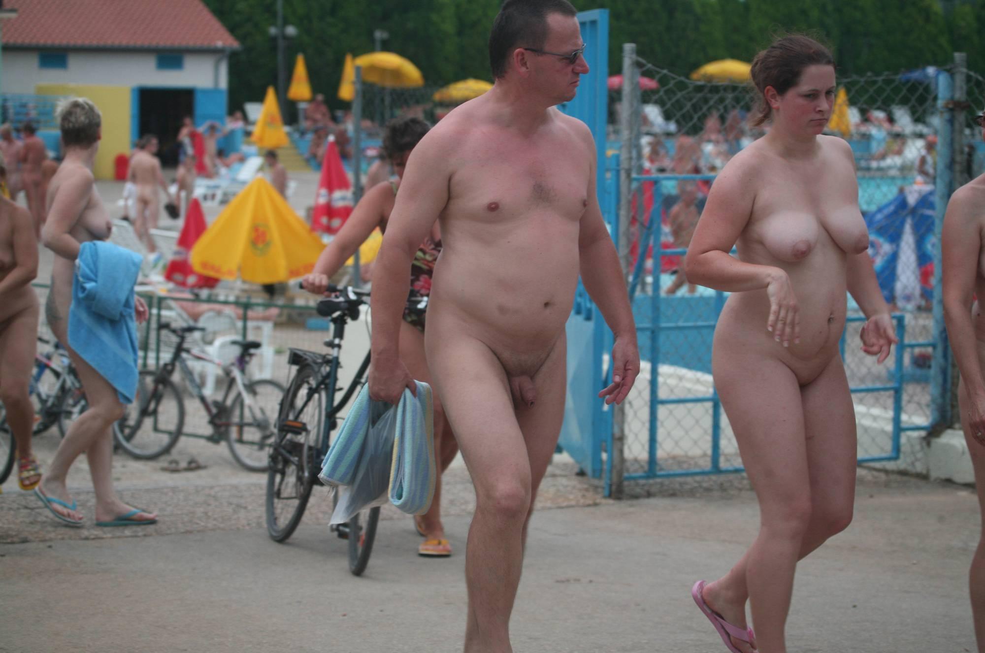 Pure Nudism Pics Naturist Resort Pool Exits - 1