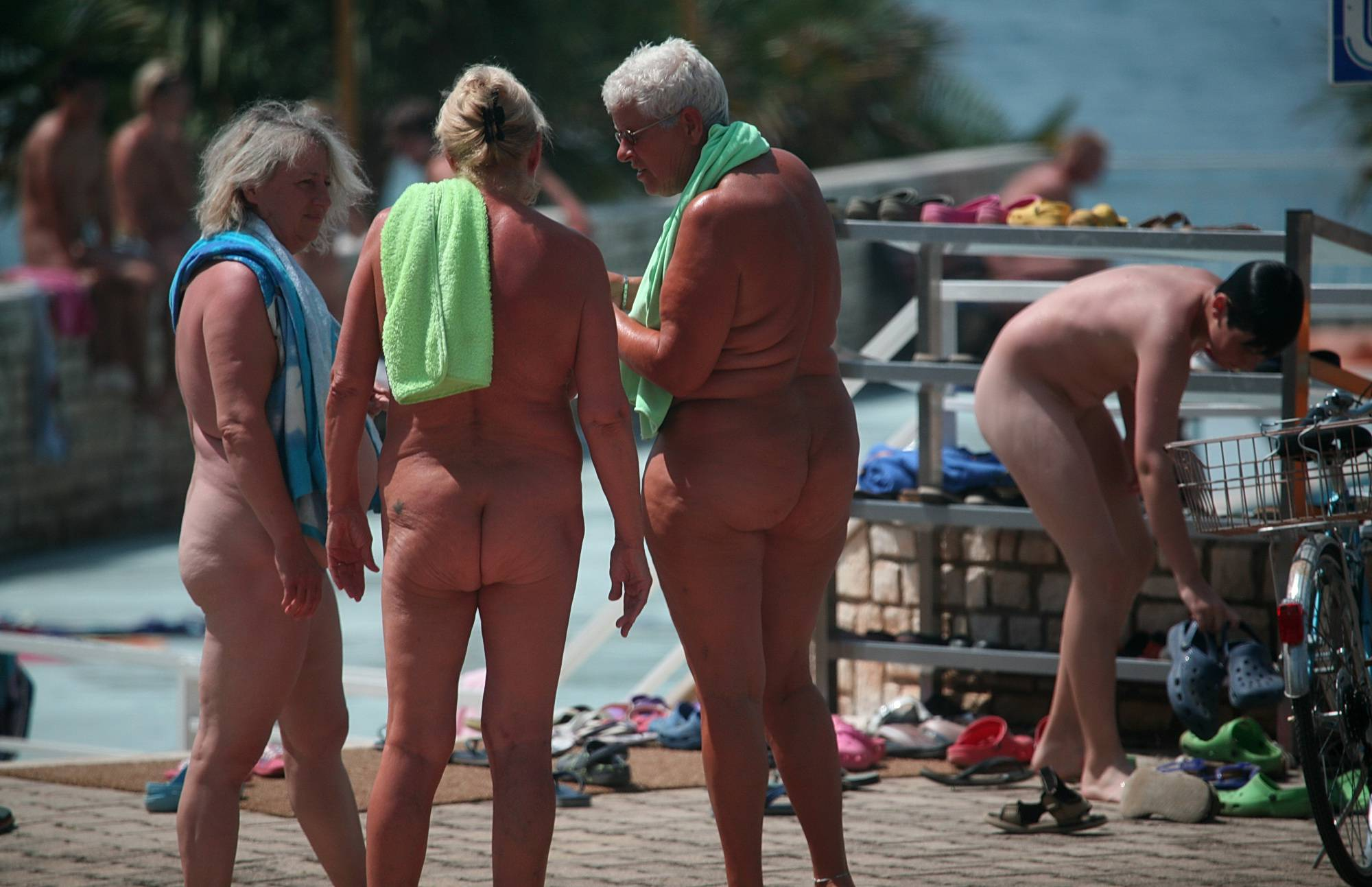 Purenudism-Summery Day At The Pool - 1