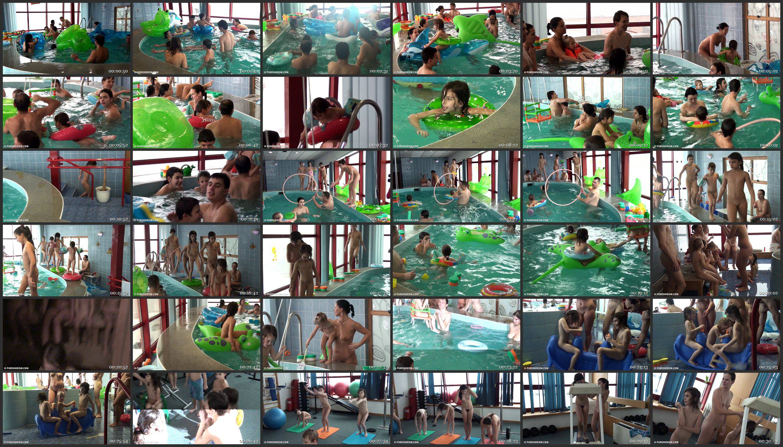 Indoor Swim Exercise - Thumbnails
