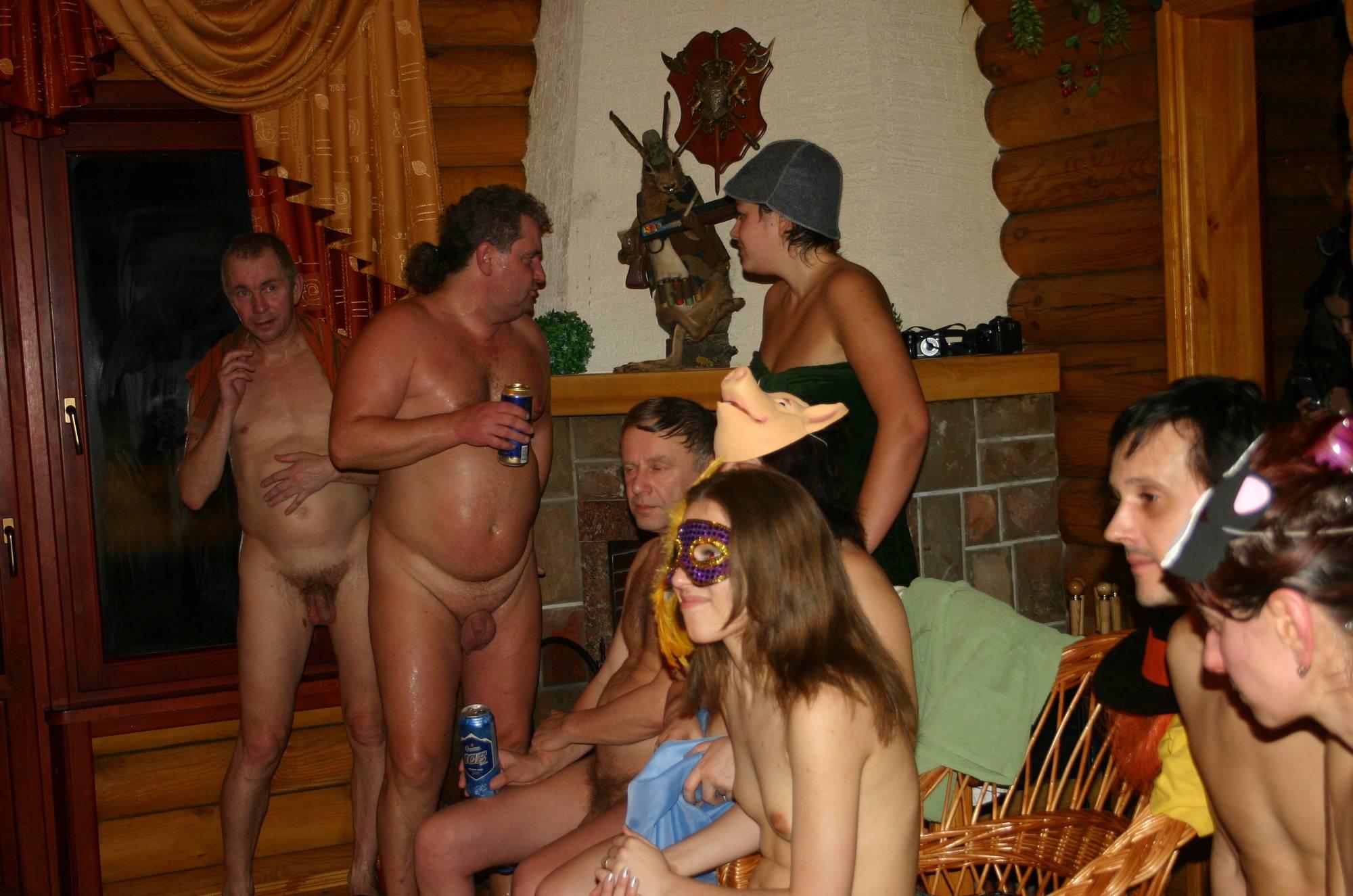 Kiev Masquerade Huddle - 1