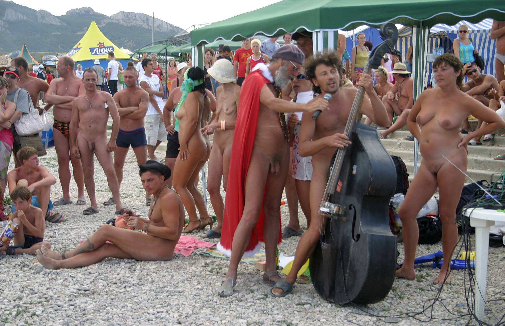 Pure Nudism Images Large Family Sun Party - 1