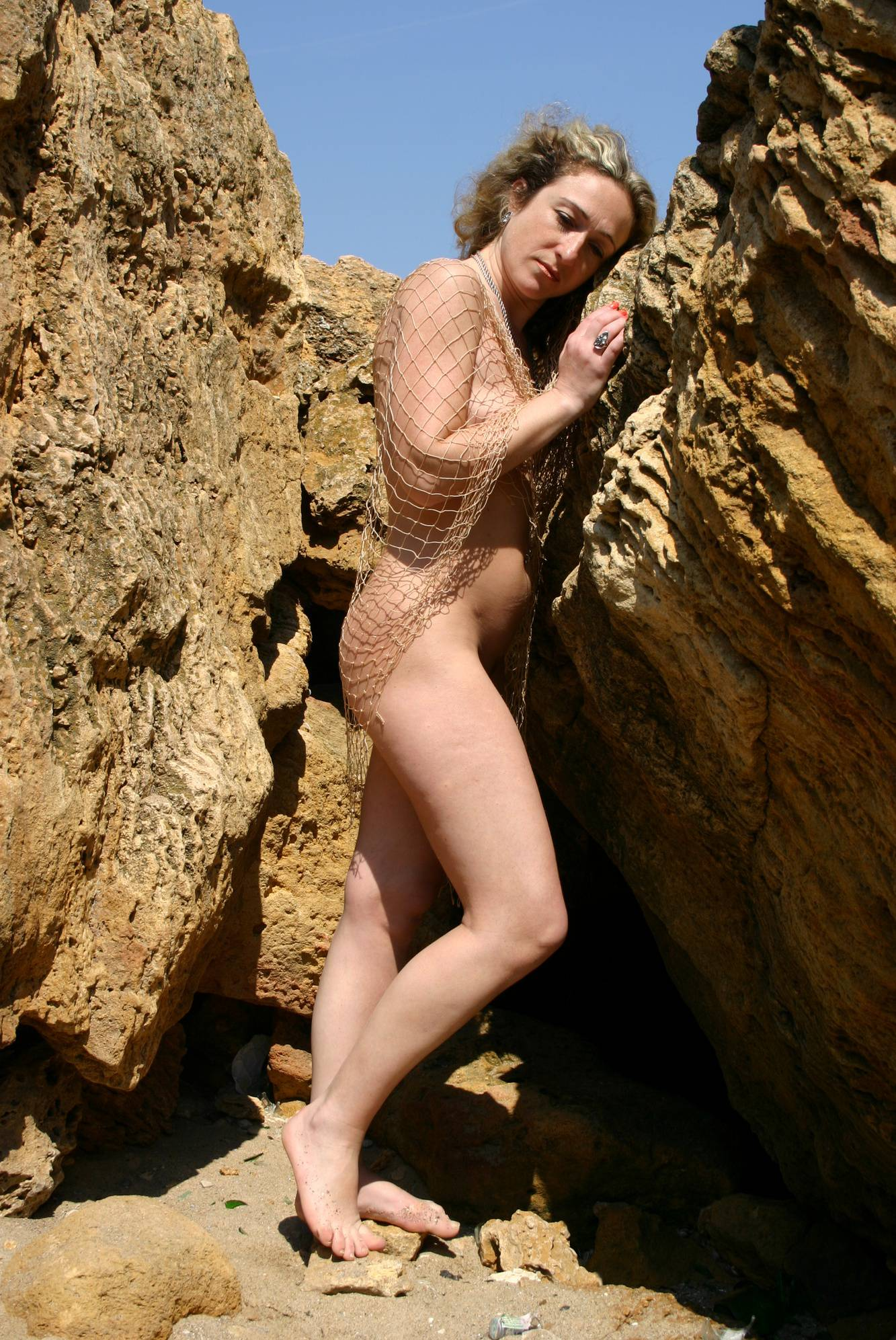 Pure Nudism-Mother Nude Mountain Net - 3