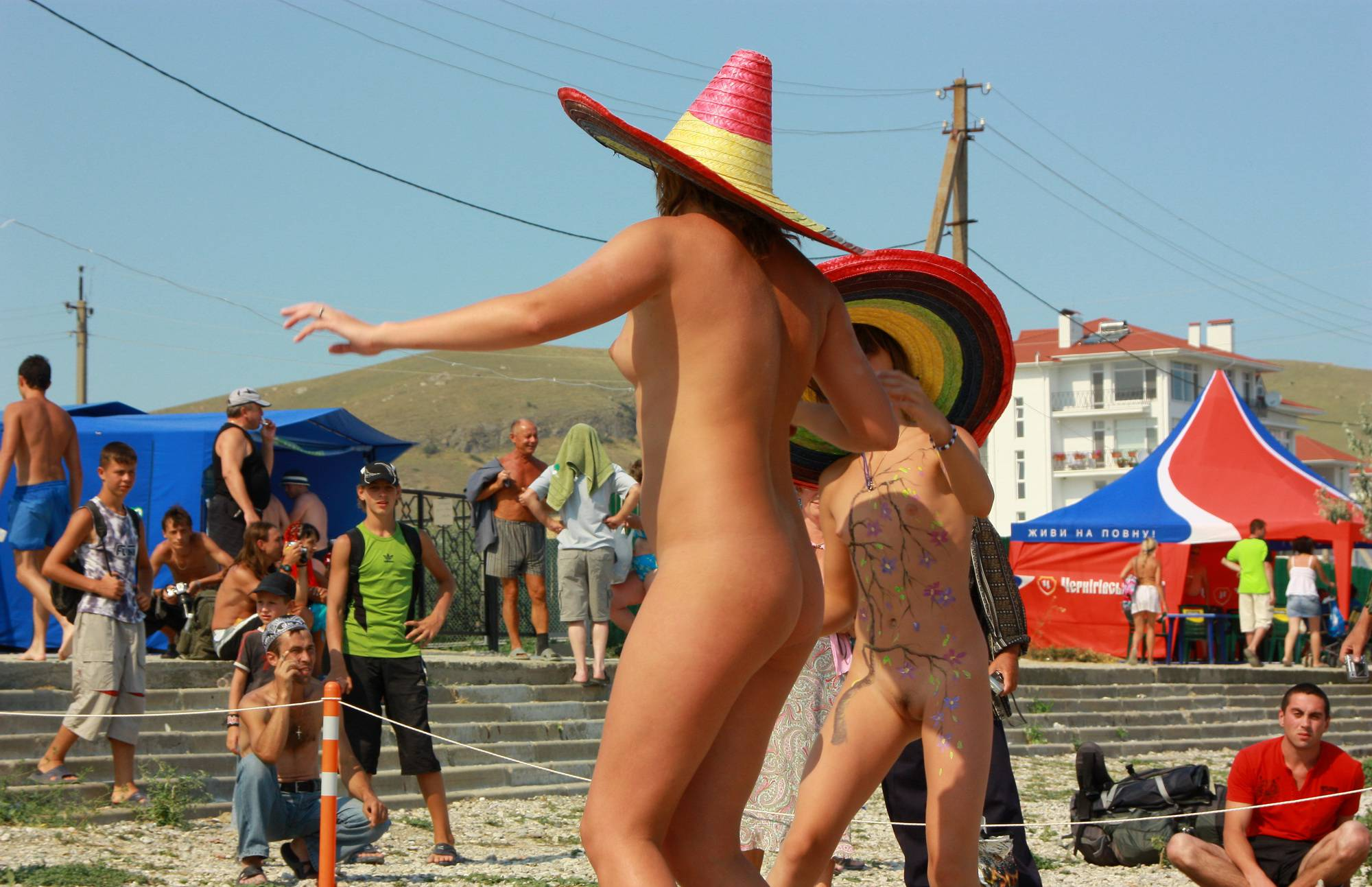 Pure Nudism Photos-Neptune Mexican Dance - 2