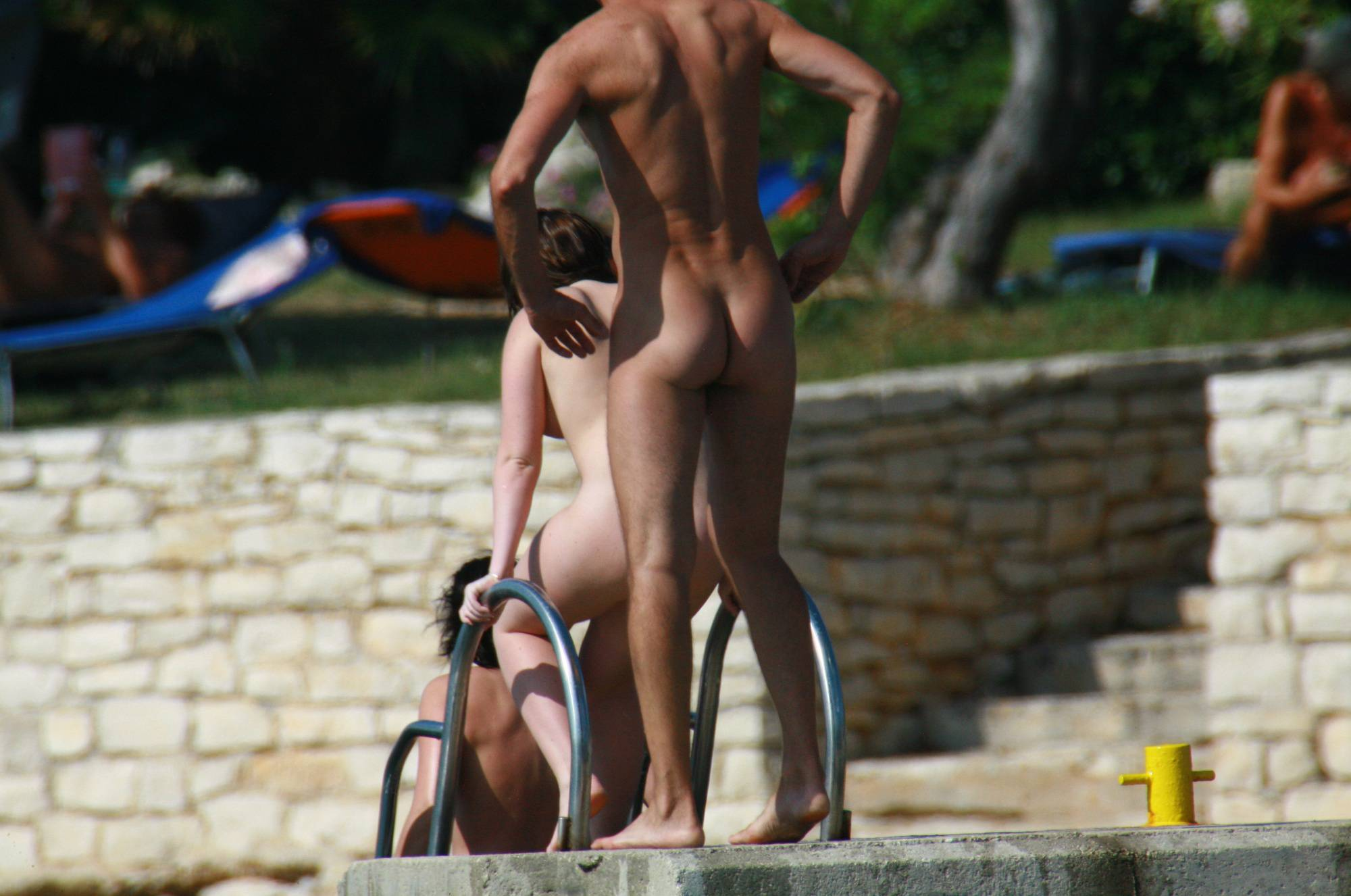 Purenudism Photos-Nudist Girl Daytime Walk - 1