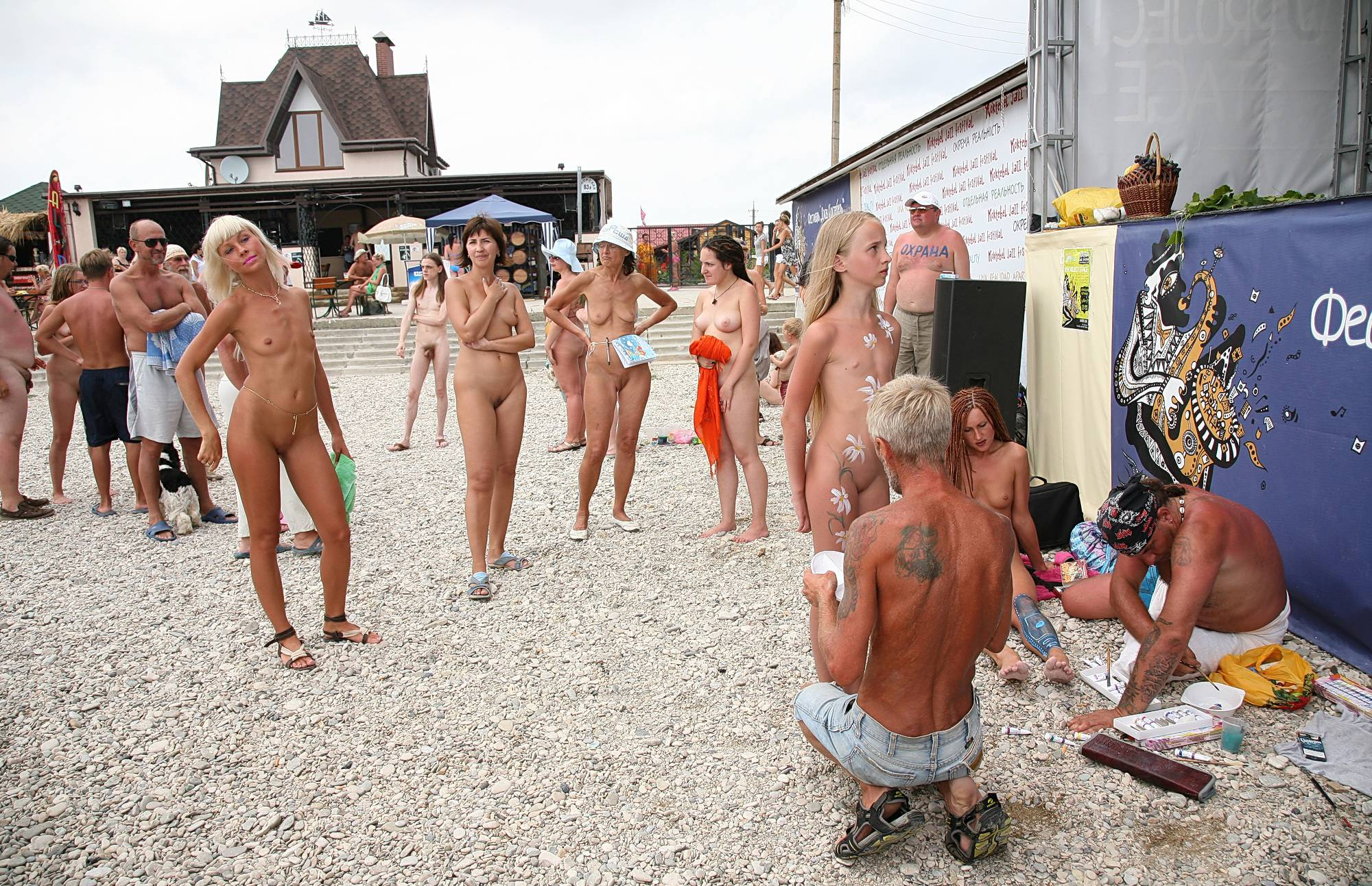 Purenudism Photos-Outdoor Art Celebration - 1