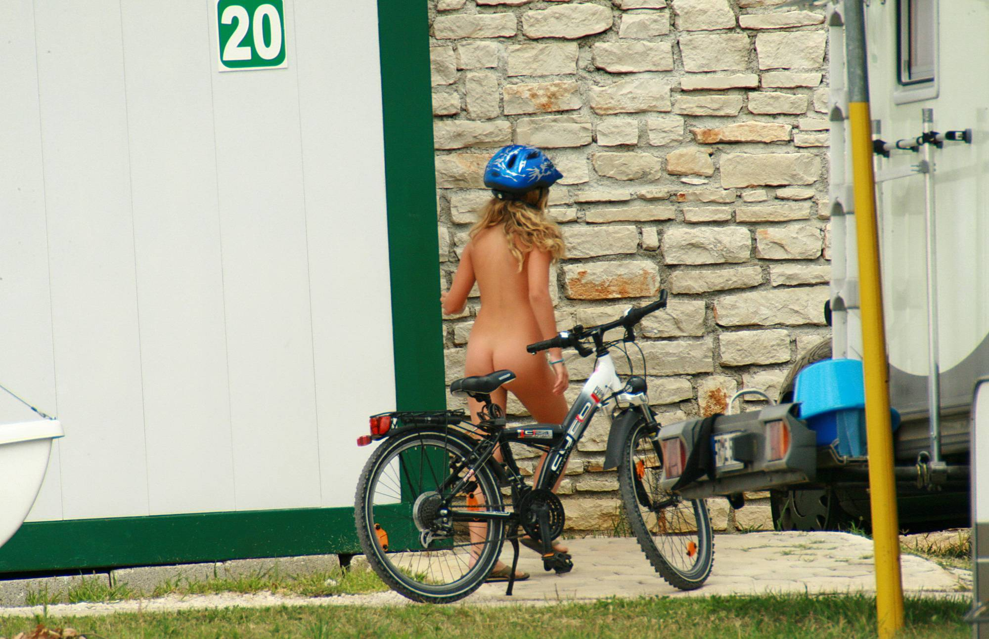 Pure Nudism Pics-Bike Riding All Day Long - 1