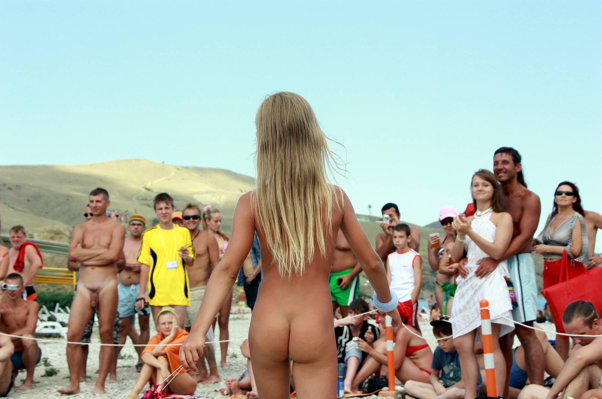 Purenudism Pics-Black Sea Contestant Walk - 2