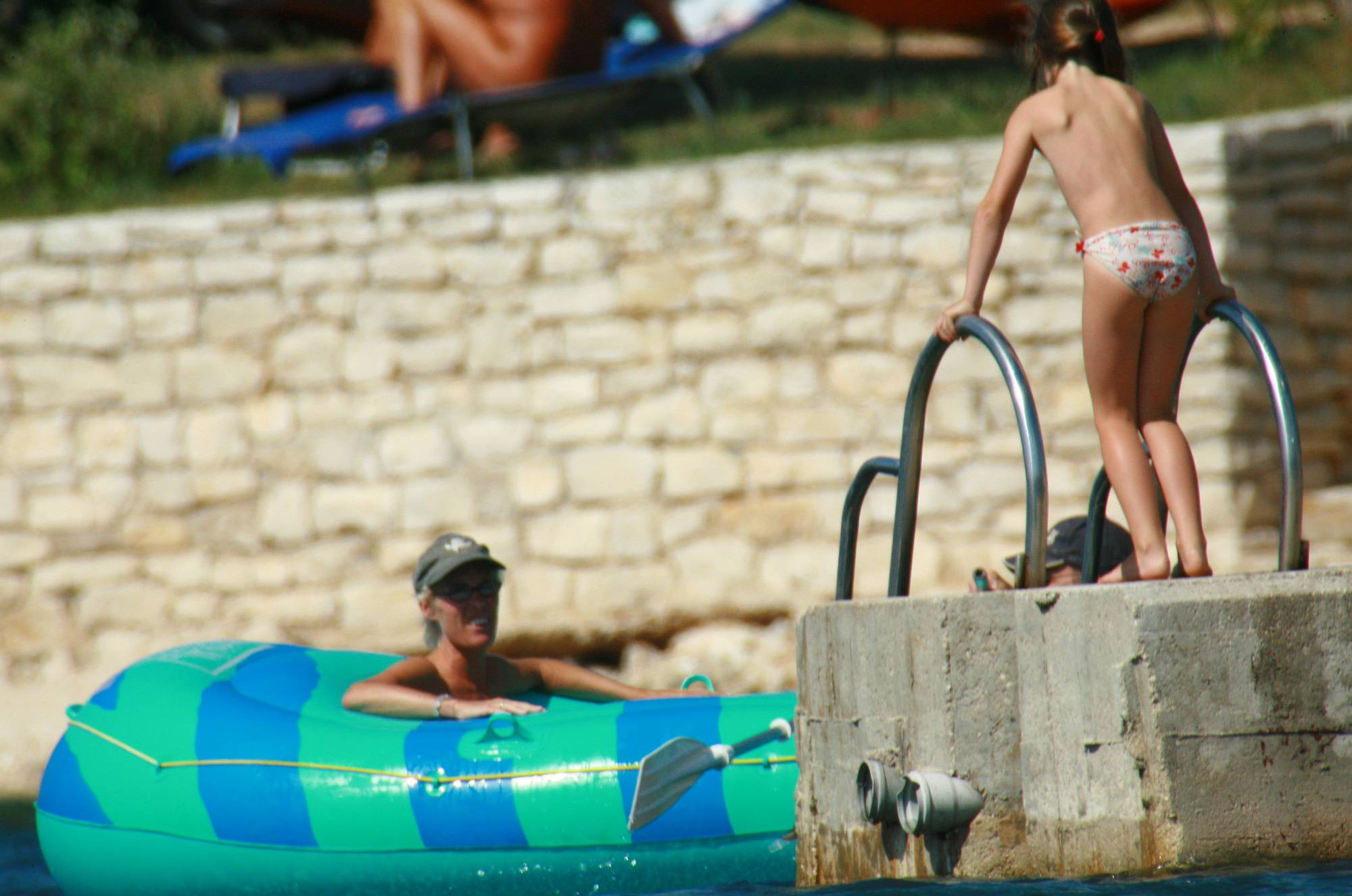 Purenudism Images-Mother Daughter Boating - 3