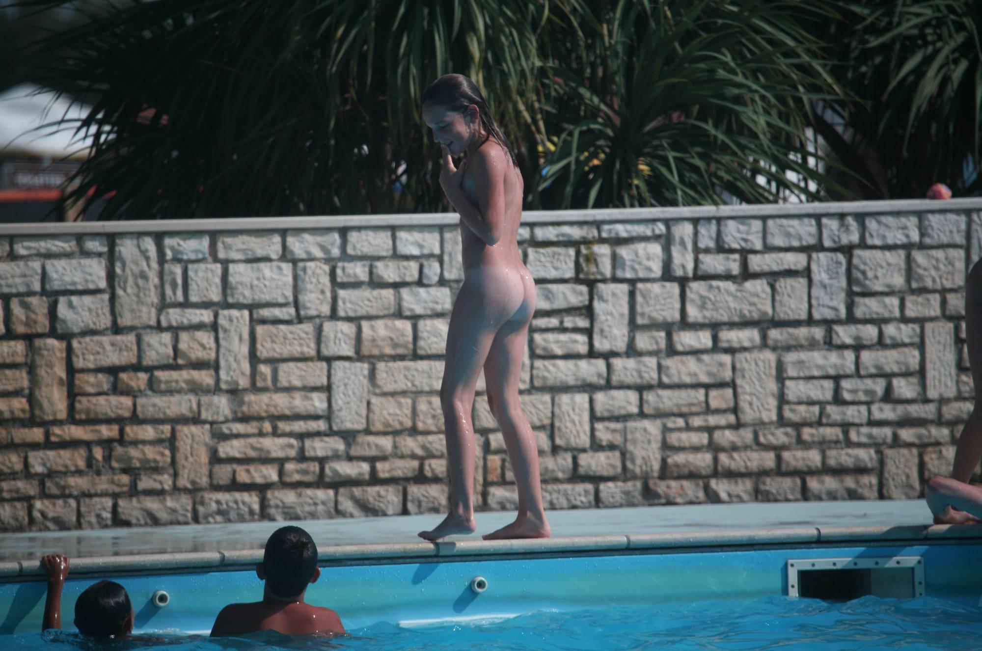 Purenudism Images-Naturist Pool-Side Singles - 2