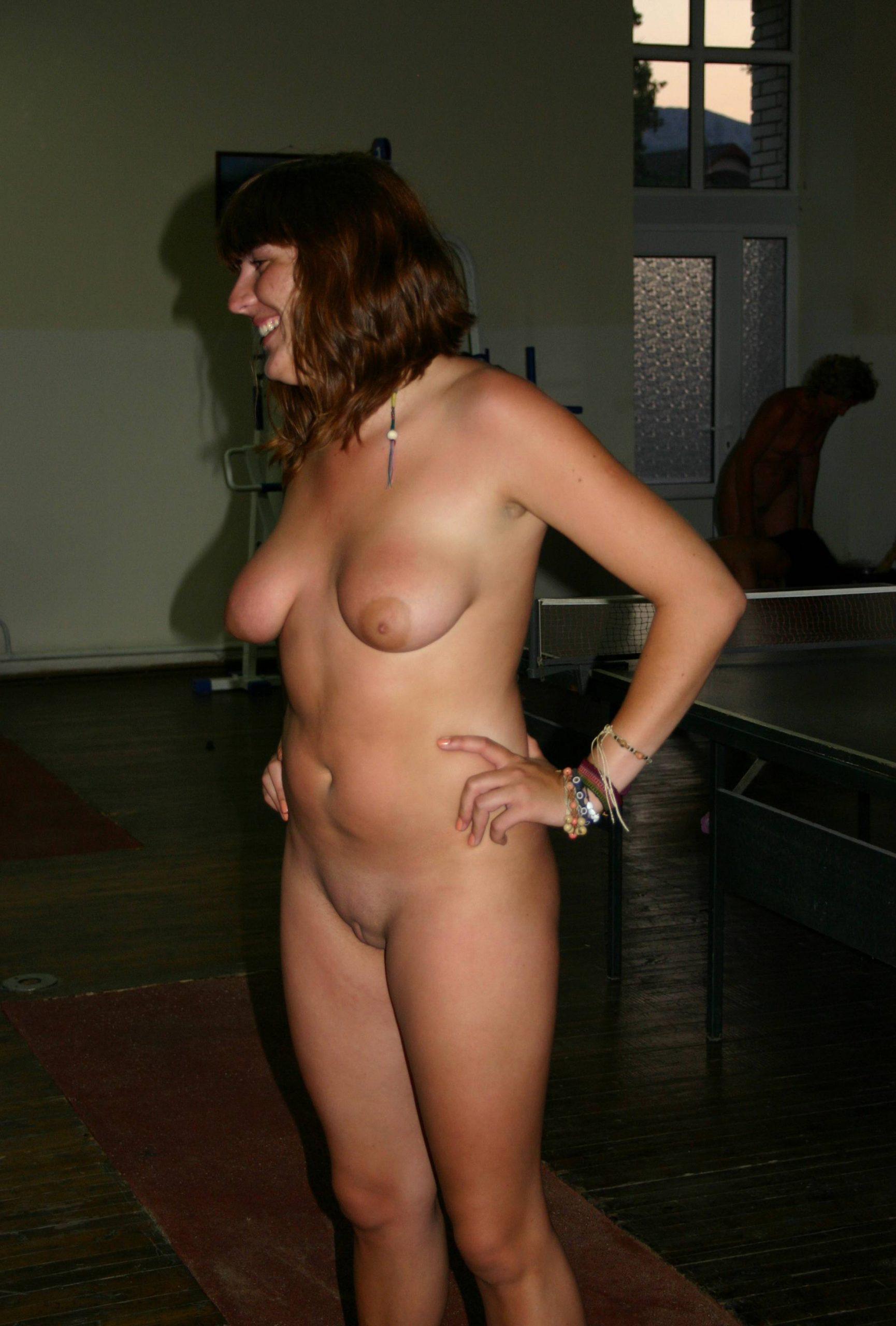 Nudist Family Acrobatics - 3